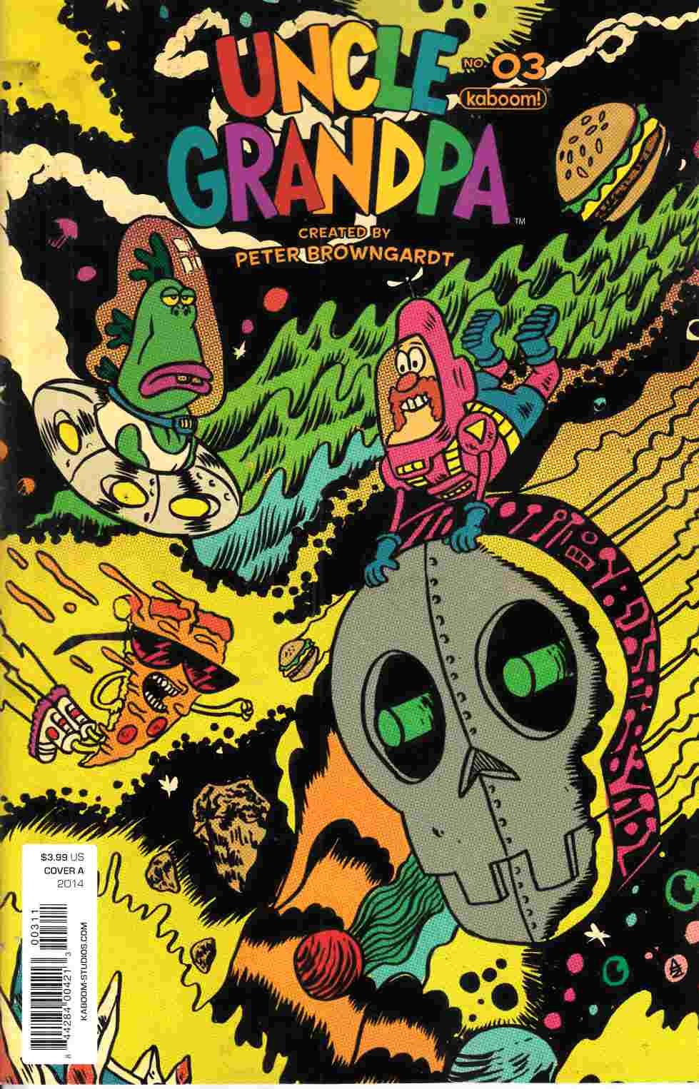 Uncle Grandpa #3 Cover A [Boom Comic] THUMBNAIL
