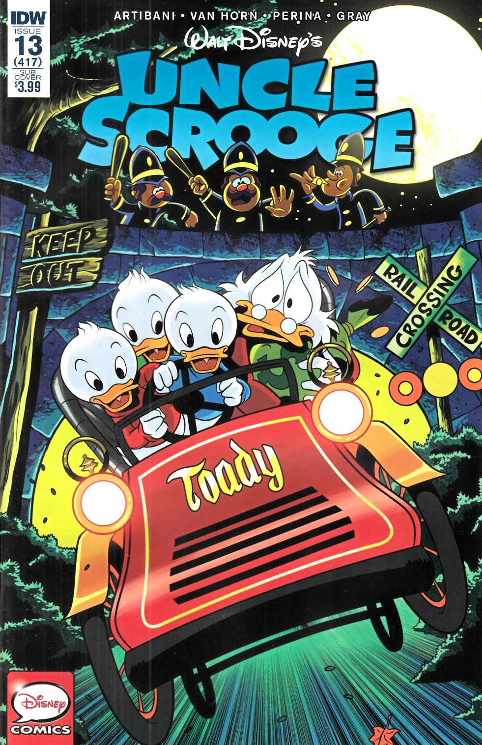 Uncle Scrooge #13 Subscription Cover [IDW Comic] THUMBNAIL