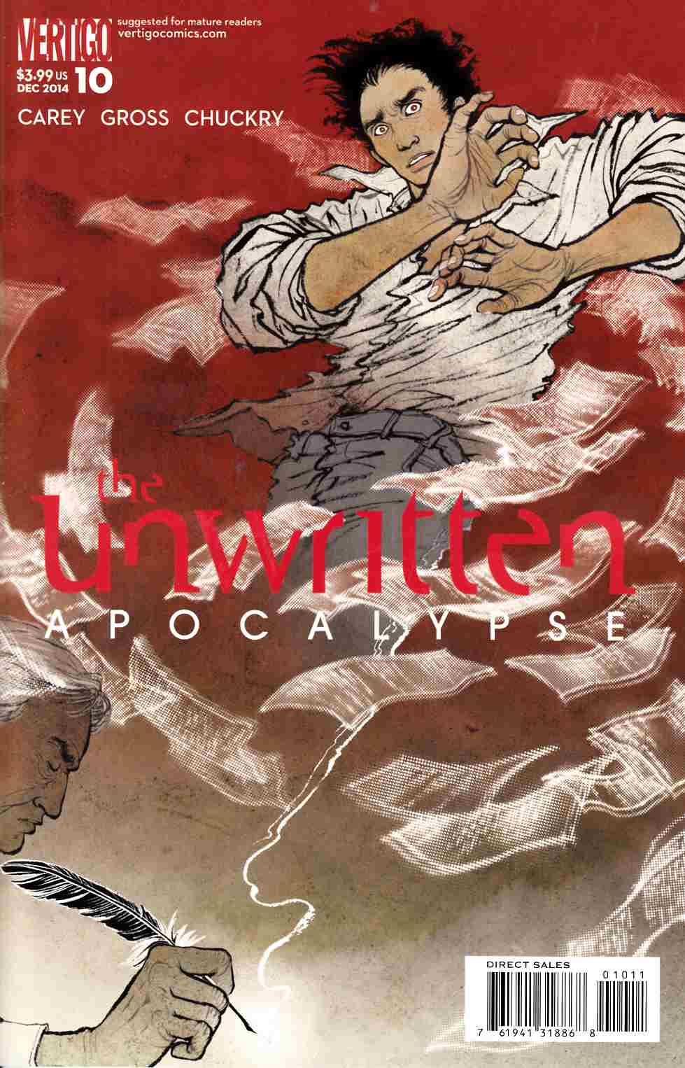 Unwritten Vol 2 Apocalypse #10 [DC Comic] THUMBNAIL