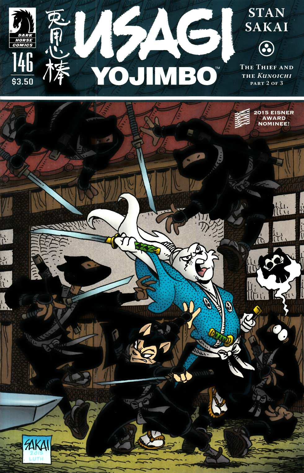 Usagi Yojimbo #146 [Dark Horse Comic] THUMBNAIL