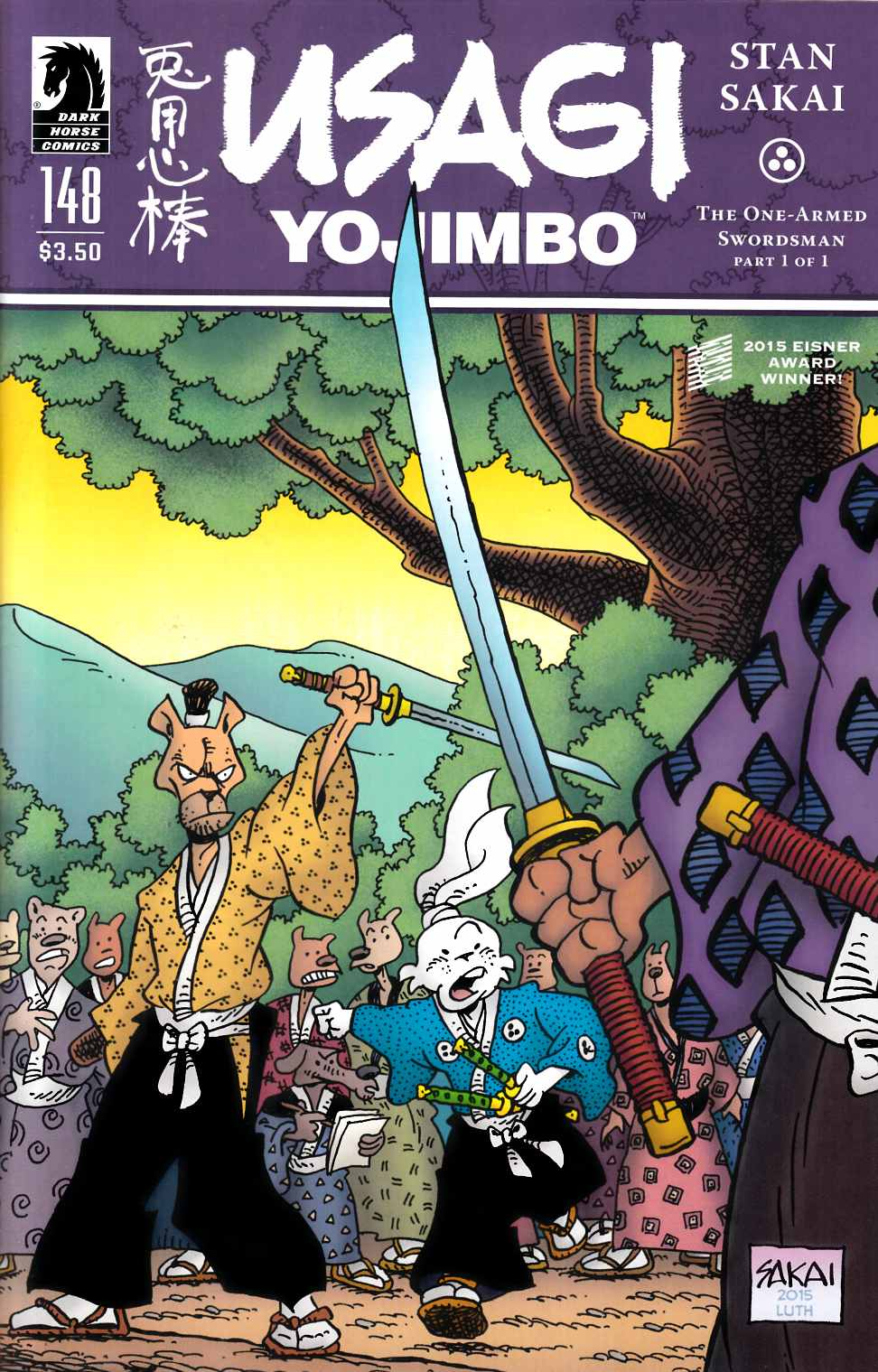 Usagi Yojimbo #148 [Dark Horse Comic] THUMBNAIL
