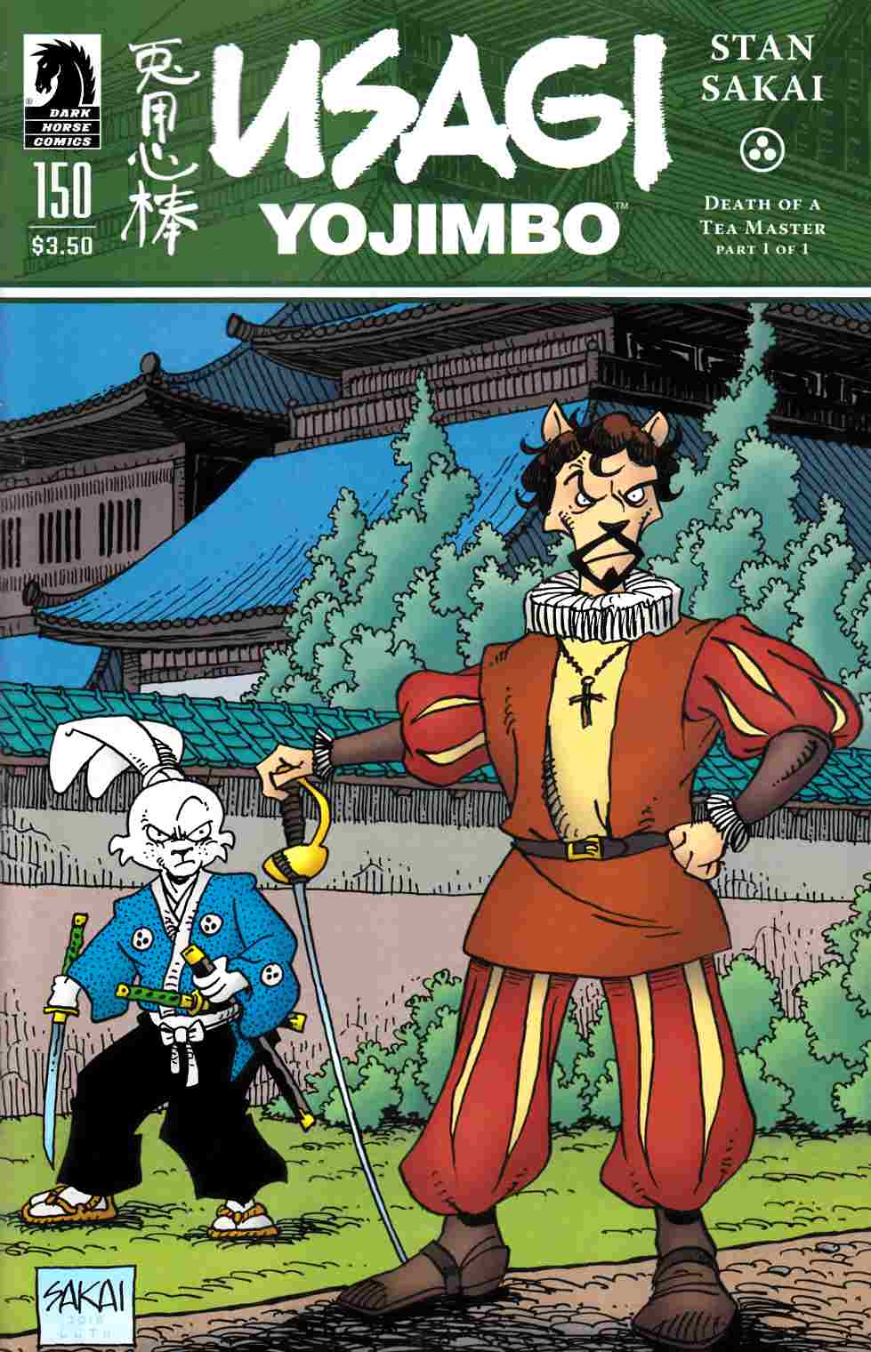 Usagi Yojimbo #150 [Dark Horse Comic] THUMBNAIL