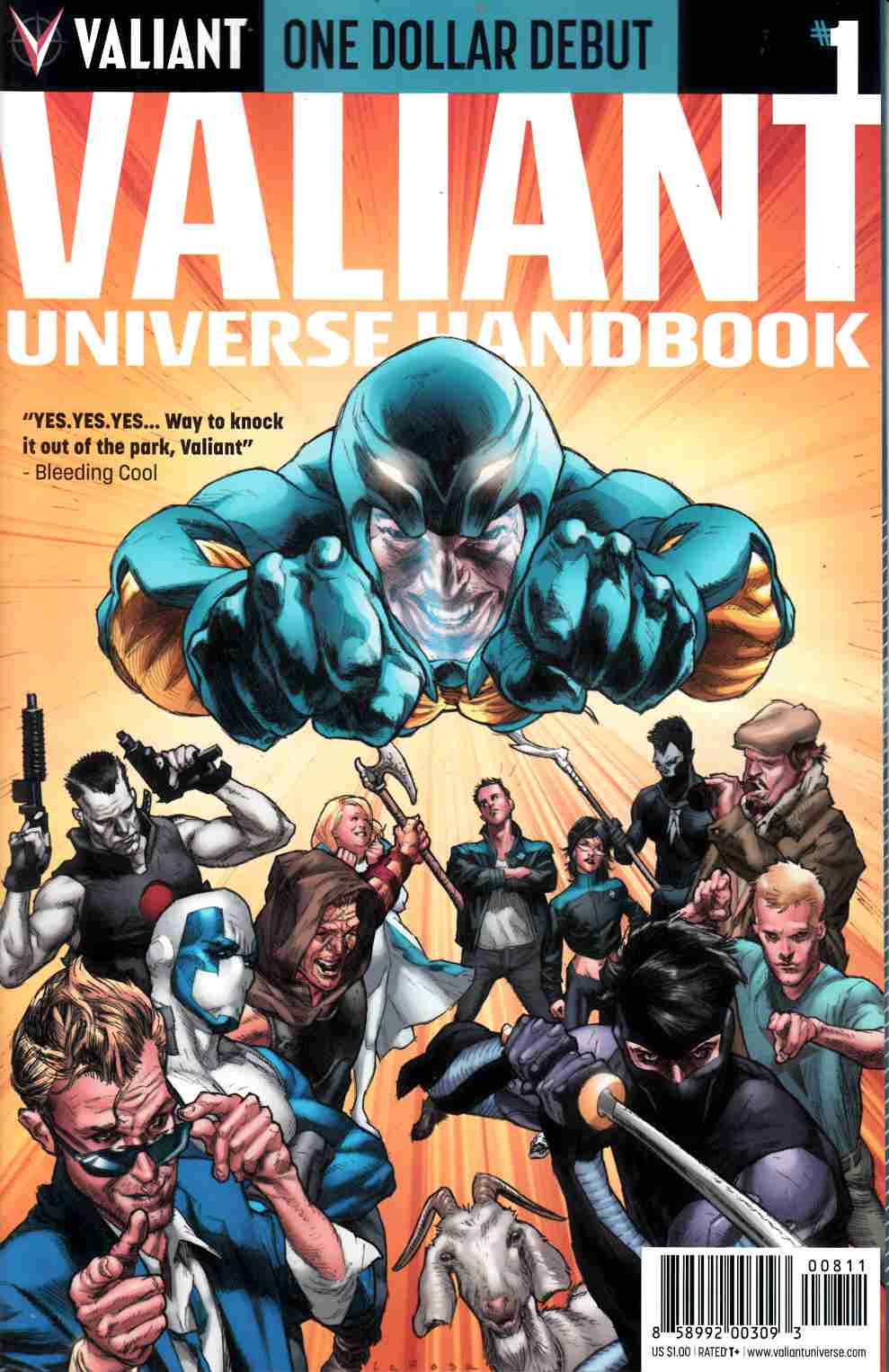Valiant Universe Handbook 2014 (One Shot) One Dollar Debut Edition [Comic] THUMBNAIL