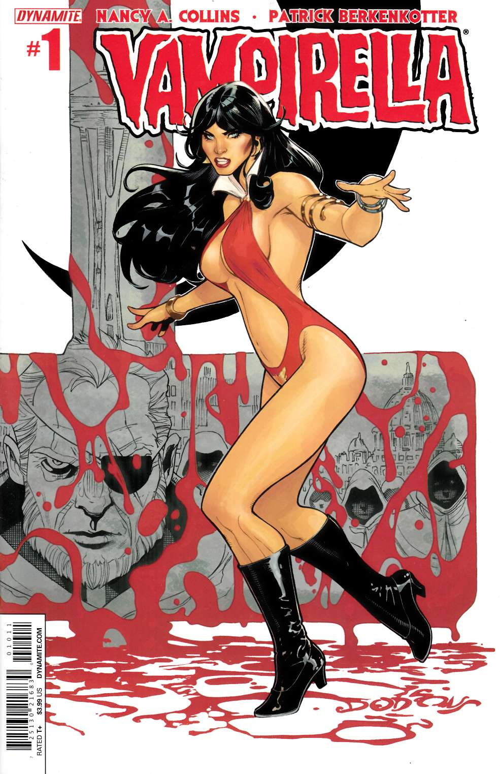 New Vampirella #1 Dodson Main Cover [Dynamite Comic] LARGE