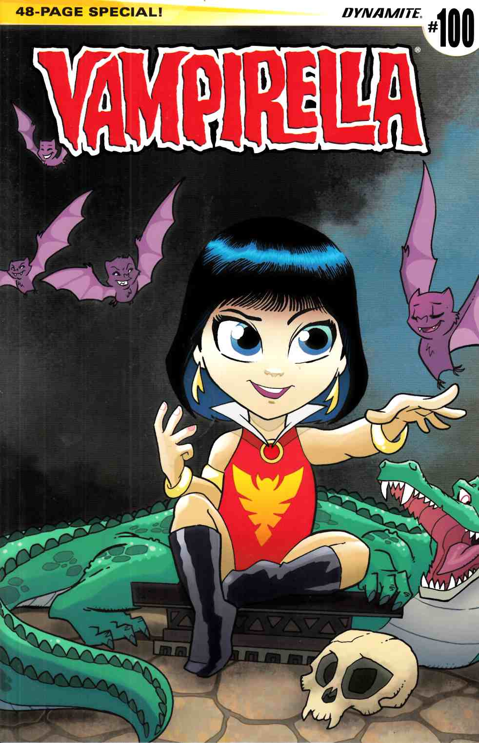 Vampirella #100 Cover D- Fleecs Subscription [Dynamite Comic] THUMBNAIL