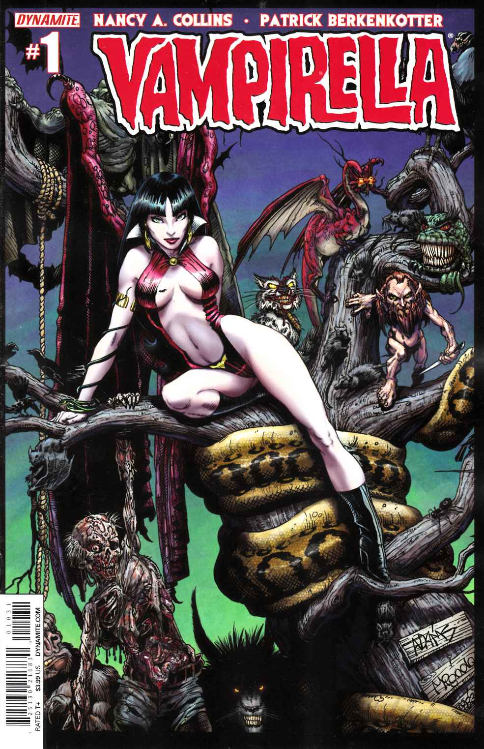 New Vampirella #1 Cover B Adams [Dynamite Comic] THUMBNAIL