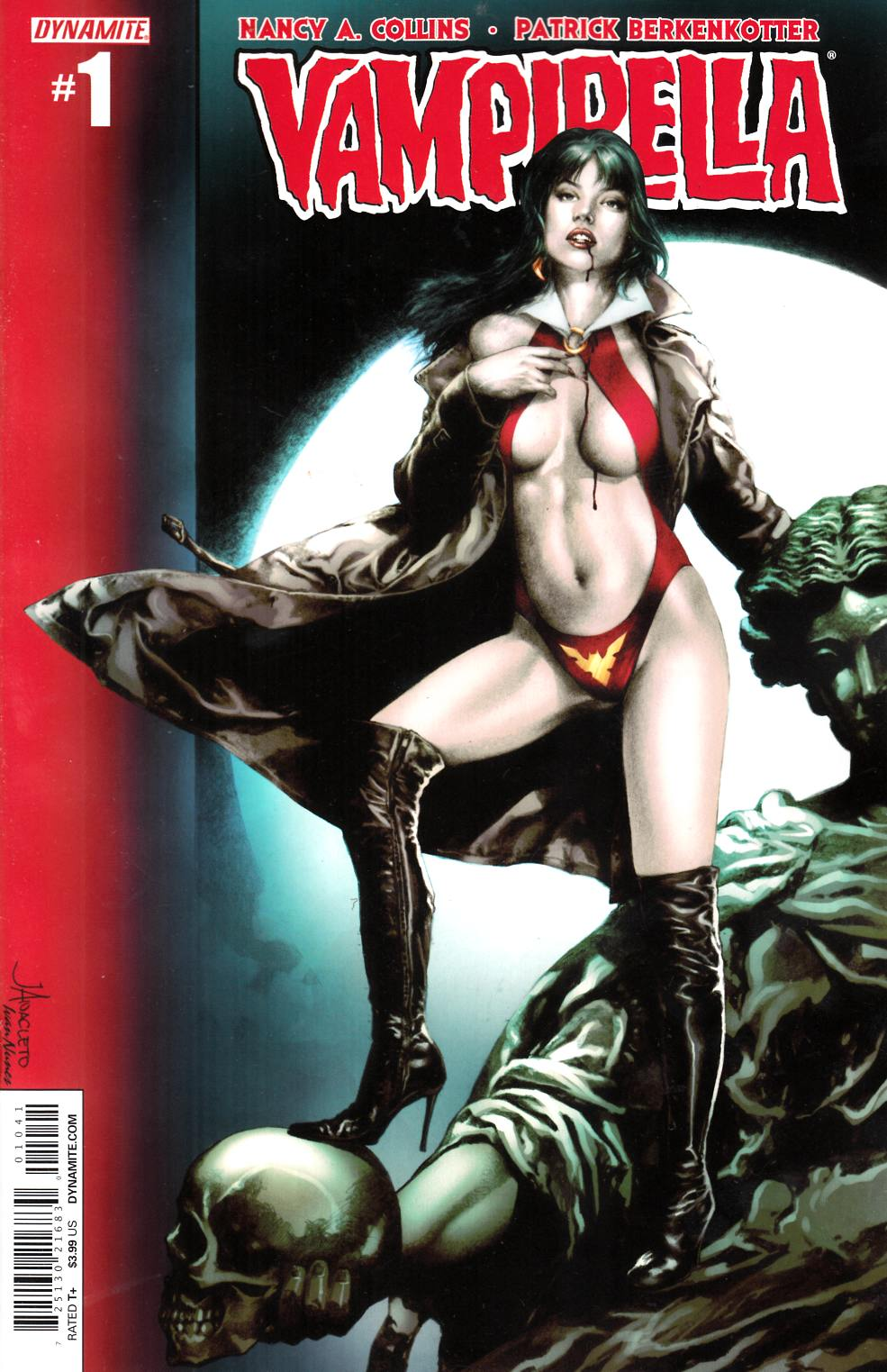 New Vampirella #1 Cover C Anacleto [Dynamite Comic] LARGE