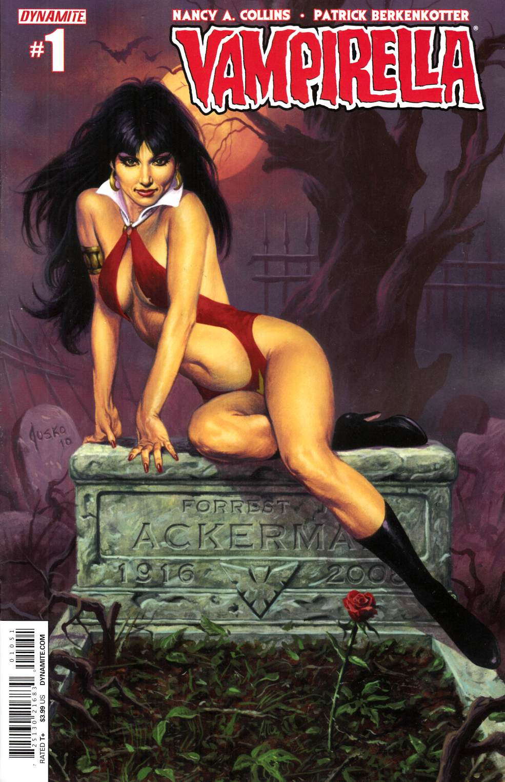 New Vampirella #1 Cover D Jusko [Dynamite Comic]