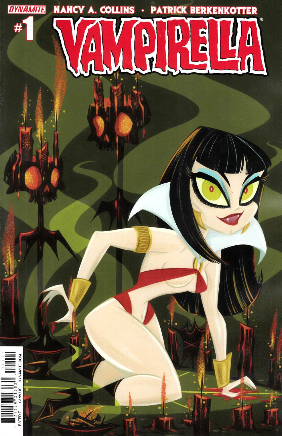 New Vampirella #1 Buscema Subscription Cover [Dynamite Comic]