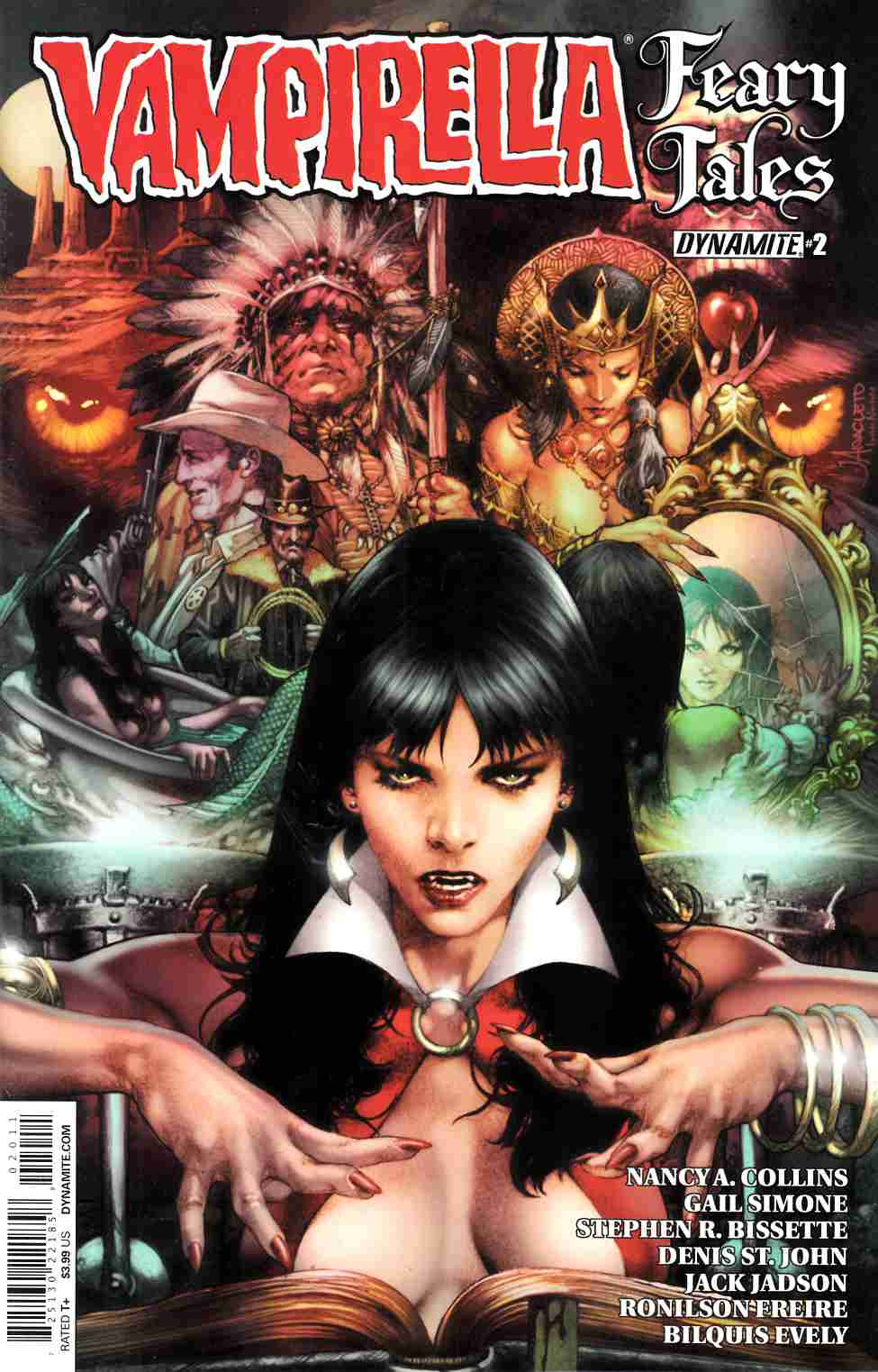 Vampirella Feary Tales #2 Cover A- Anacleto [Dynamite Comic]