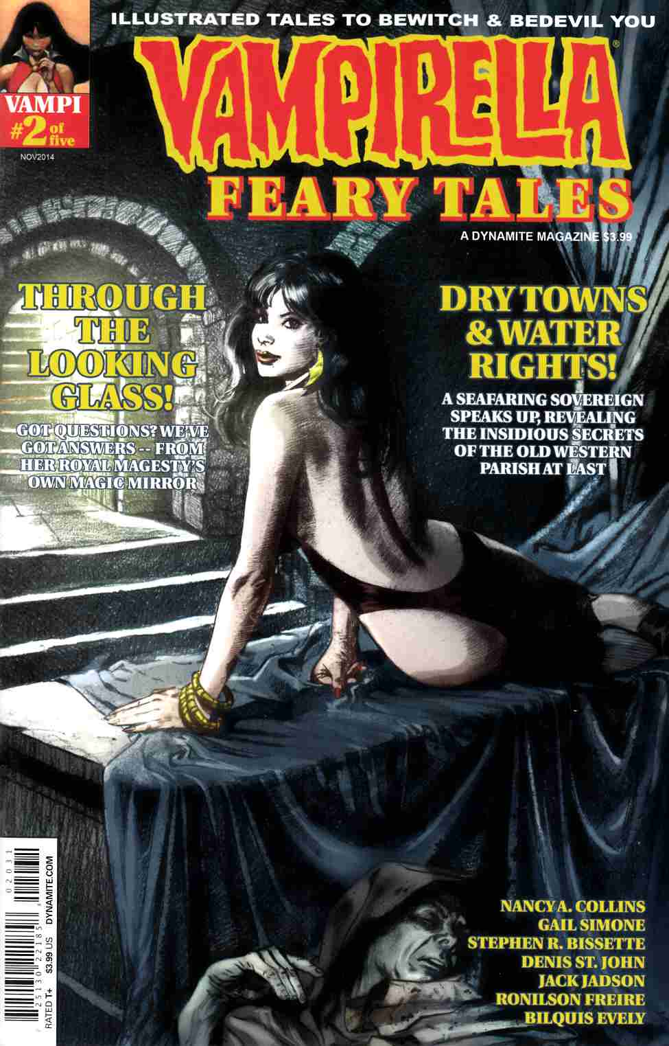 Vampirella Feary Tales #2 Cover C- Roach Subscription [Dynamite Comic]