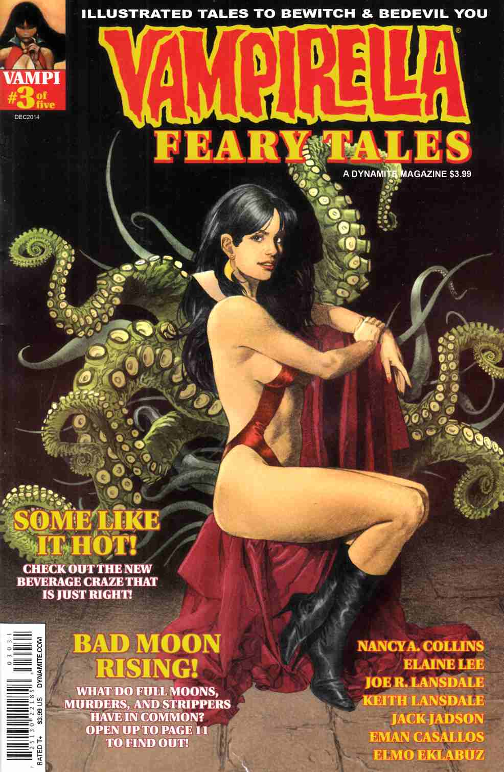 Vampirella Feary Tales #3 Cover C- Subscription [Dynamite Comic]