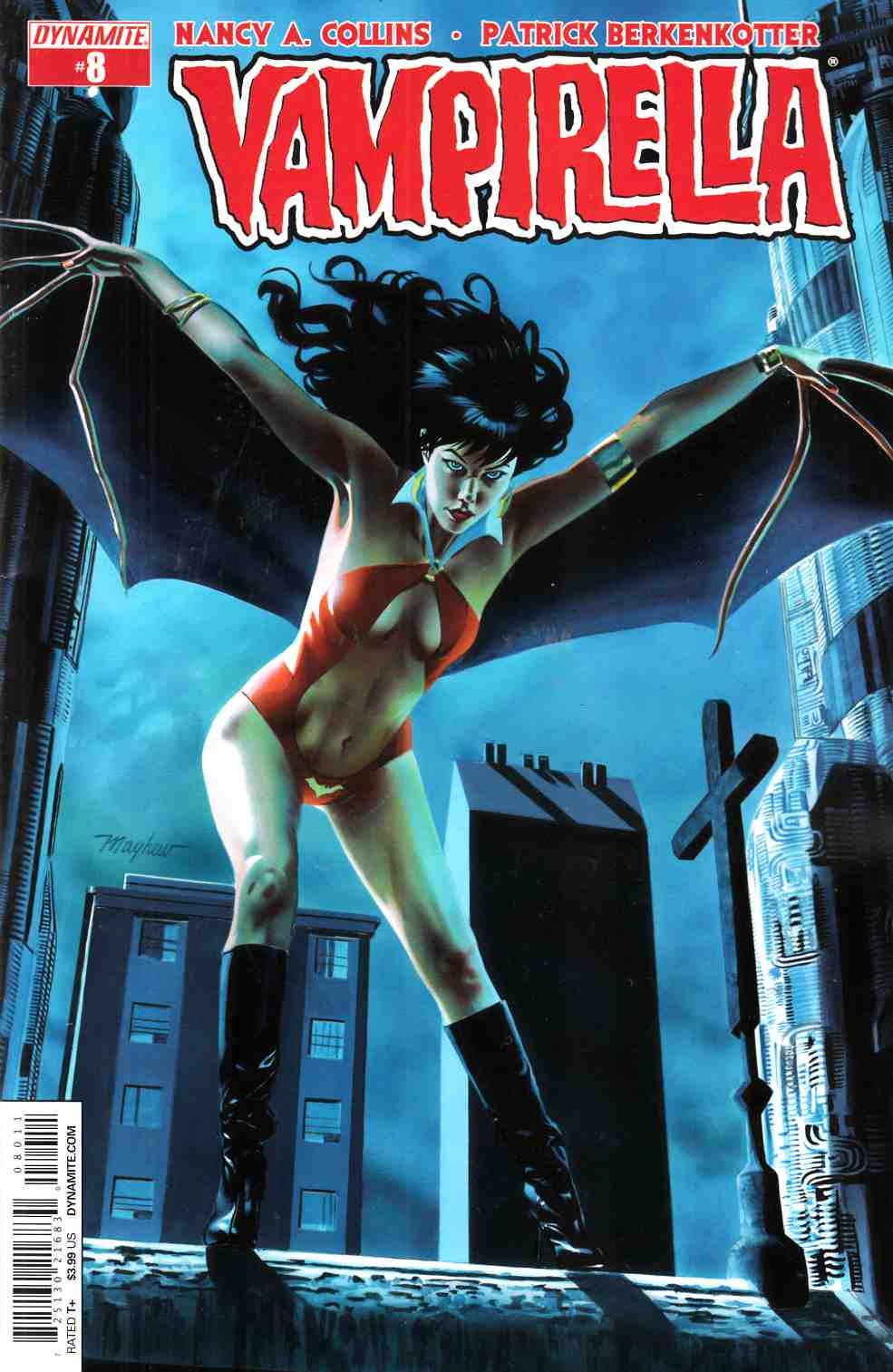 New Vampirella #8 Cover A [Dynamite Comic] THUMBNAIL