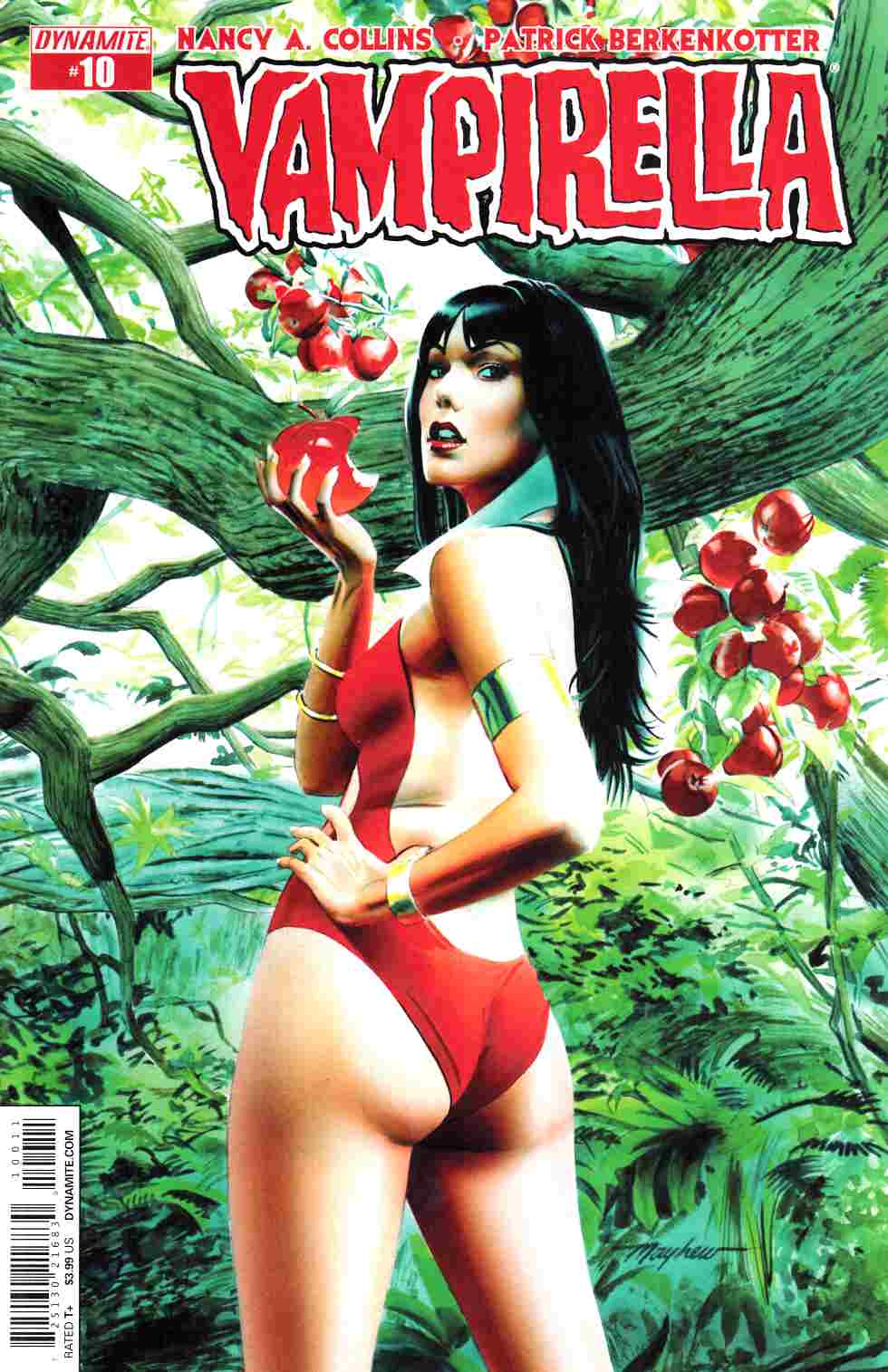 New Vampirella #10 Cover A- Mayhew [Dynamite Comic]