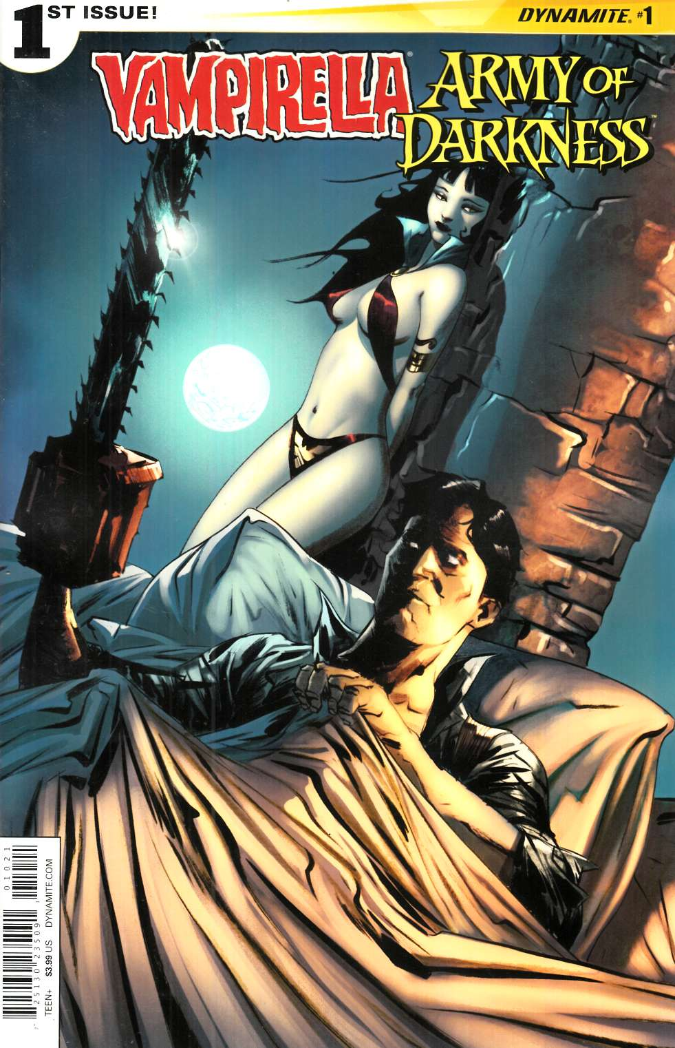 Vampirella Army of Darkness #1 Cover B- Lee [Dynamite Comic]_THUMBNAIL