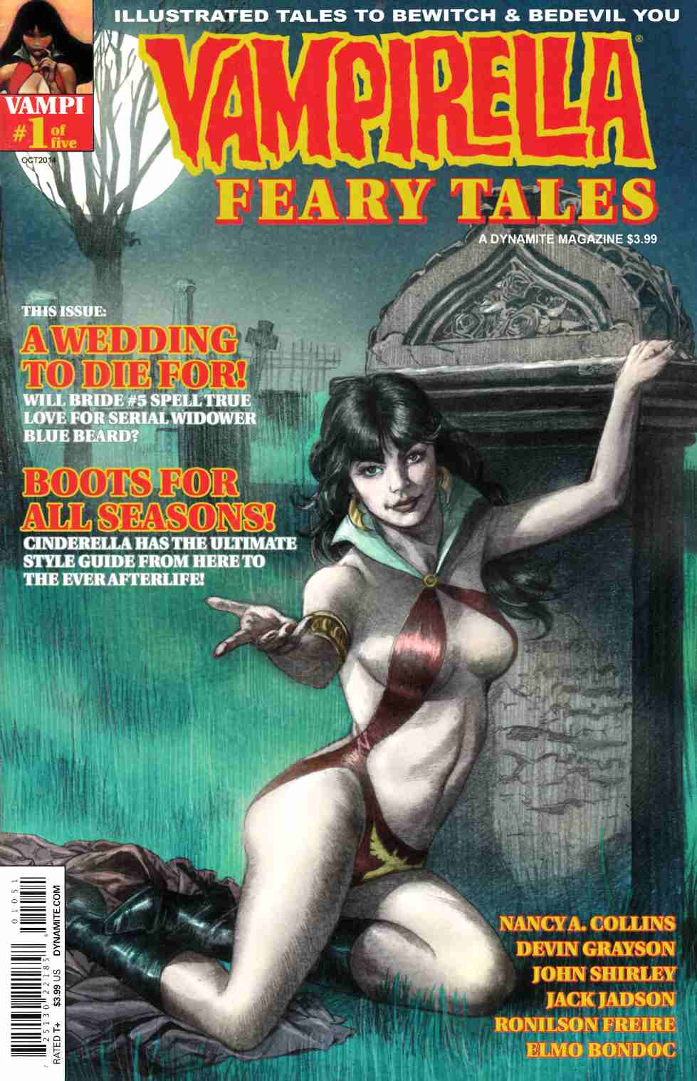 Vampirella Feary Tales #1 Cover E Roach Subscription Cover Near Mint (9.4) [Dynamite Comic] THUMBNAIL