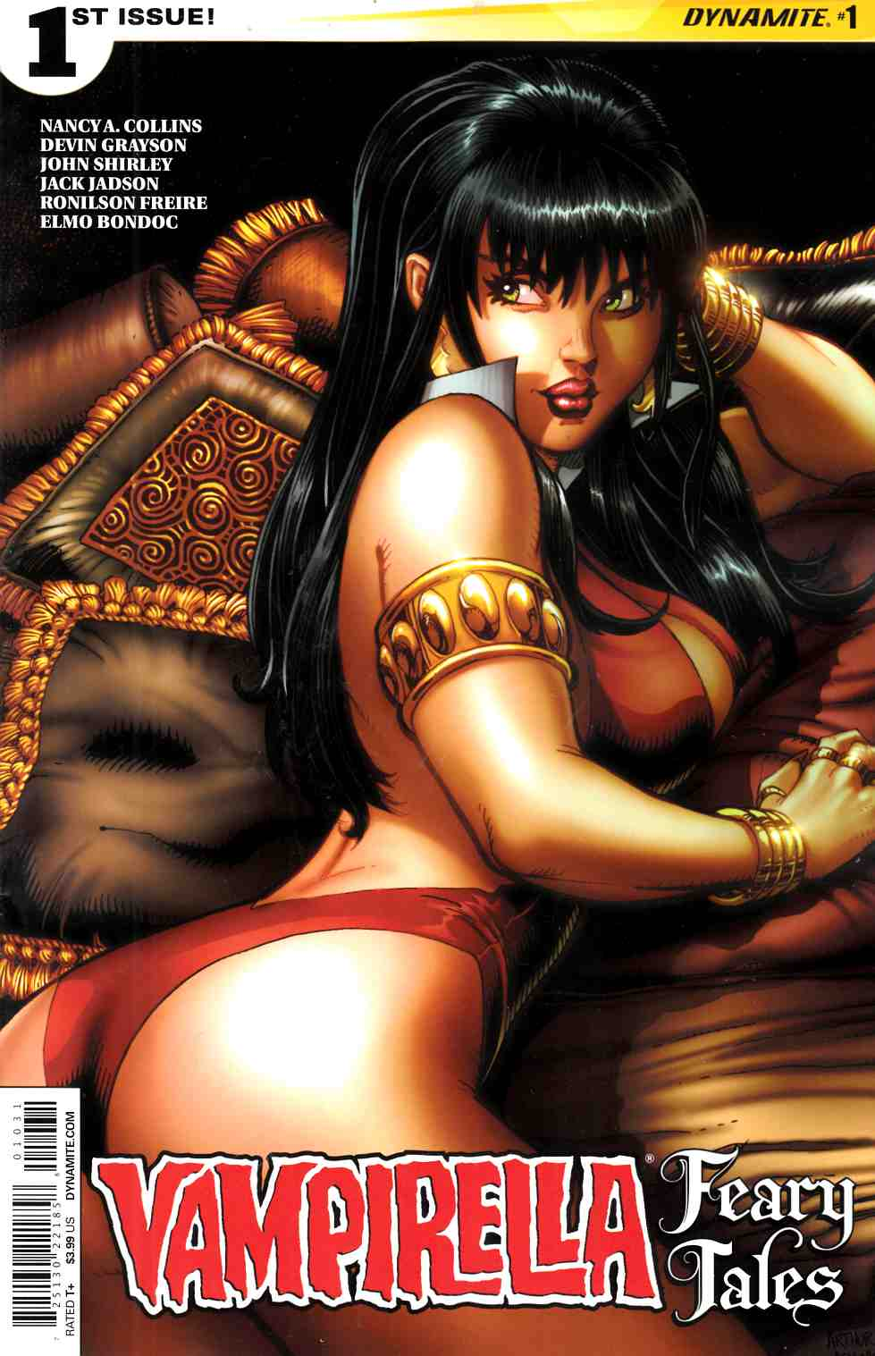 Vampirella Feary Tales #1 Cover C Adams Near Mint (9.4) [Dynamite Comic] THUMBNAIL