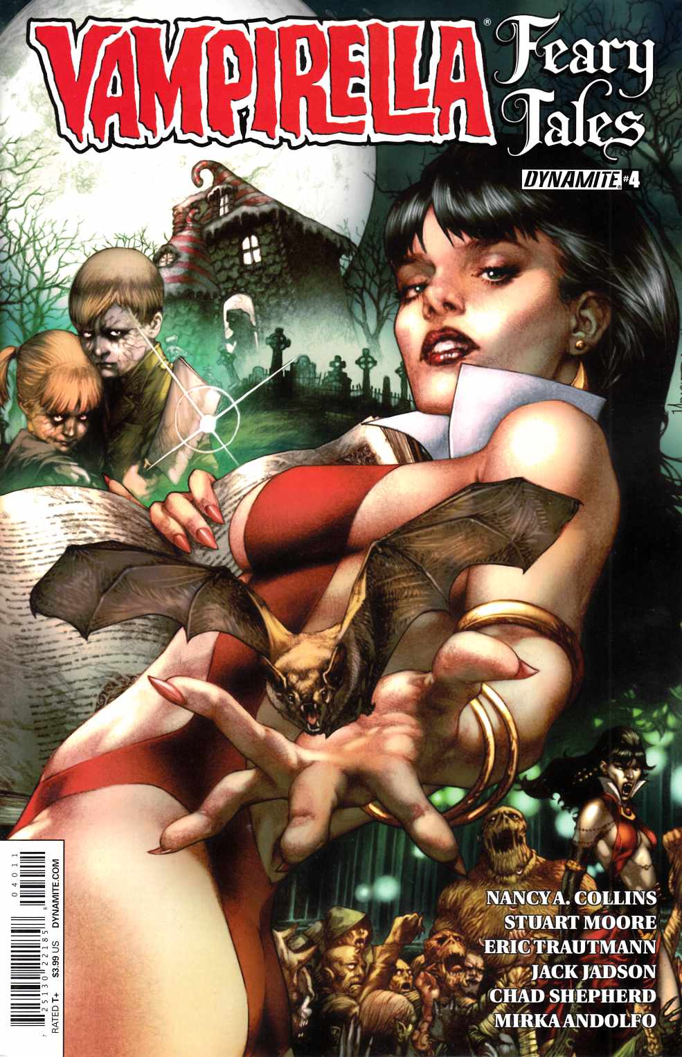 Vampirella Feary Tales #4 Cover A- Anacleto [Dynamite Comic]