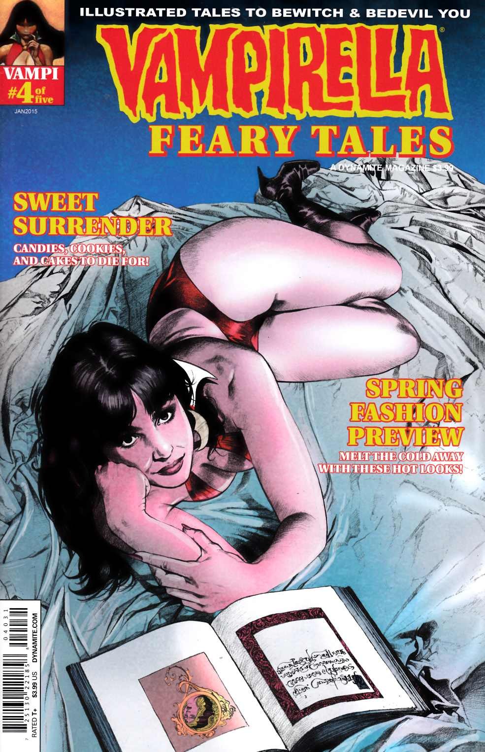 Vampirella Feary Tales #4 Cover C- Roach Subscription [Dynamite Comic] THUMBNAIL