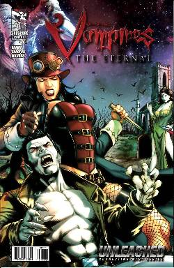GFT Unleashed Vampires Eternal #1 Cover A- Spay [Comic]
