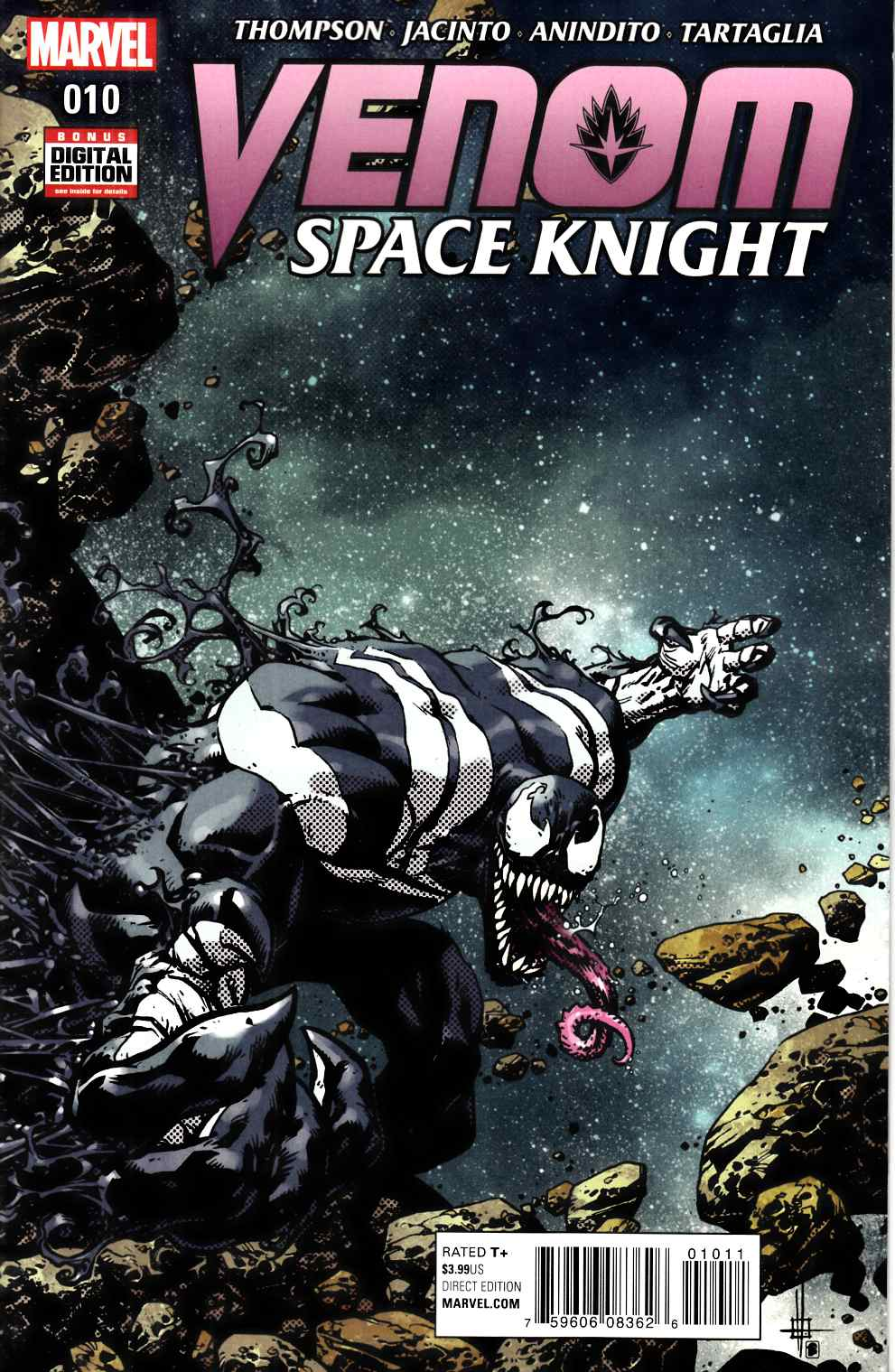 Venom Space Knight #10 [Marvel Comic] THUMBNAIL