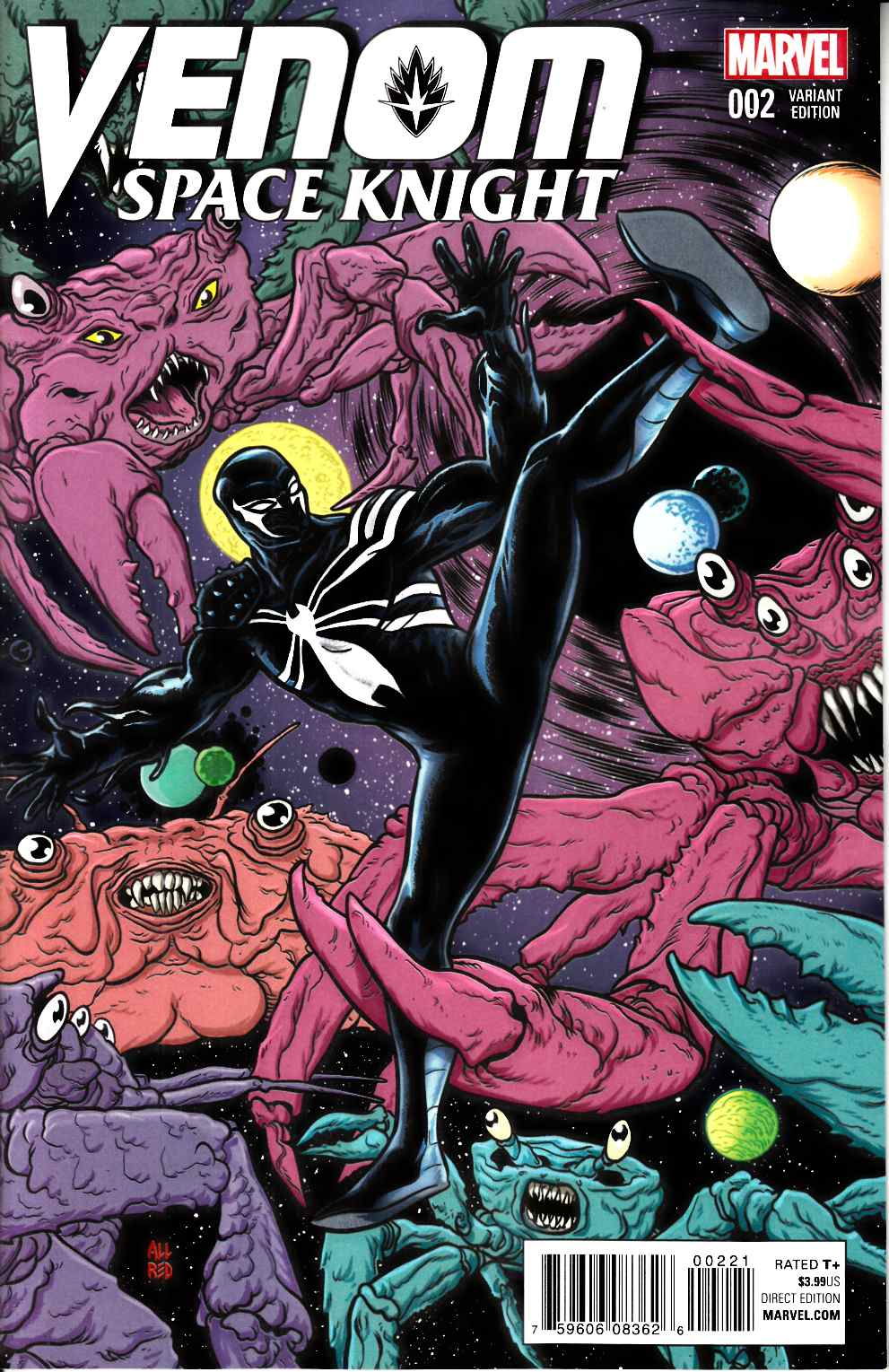 Venom Space Knight #2 Allred Variant Cover [Marvel Comic] THUMBNAIL