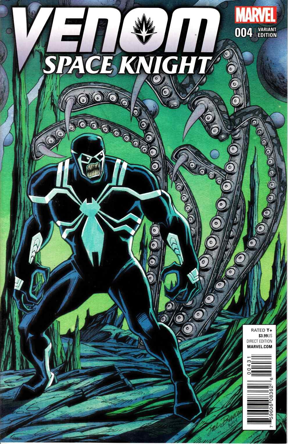 Venom Space Knight #4 Buscema Variant Cover [Marvel Comic] THUMBNAIL