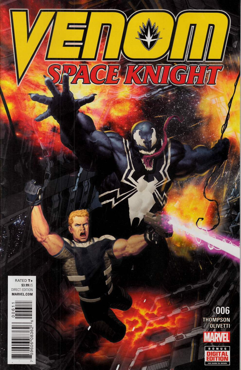 Venom Space Knight #6 [Marvel Comic] THUMBNAIL