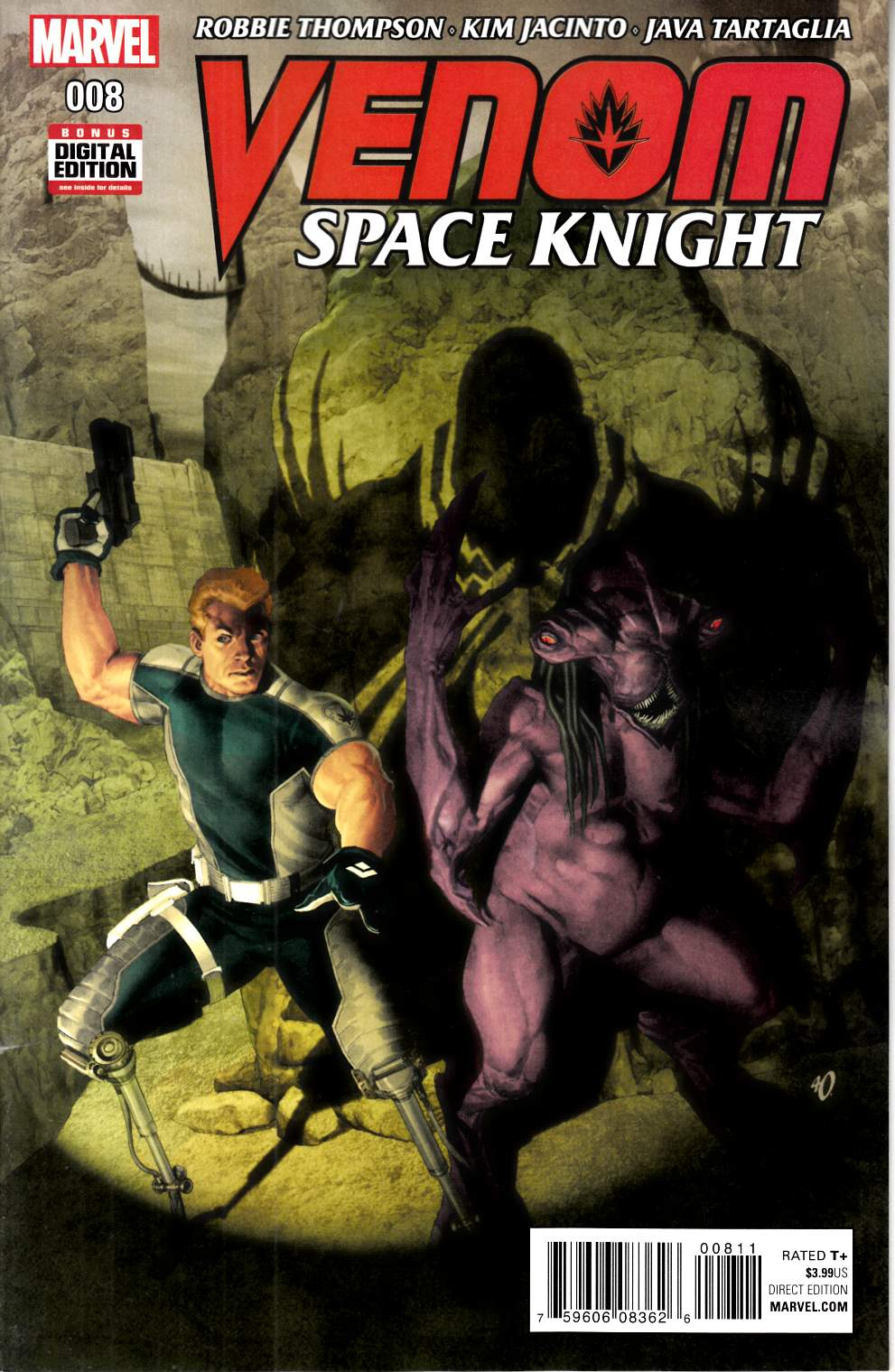 Venom Space Knight #8 [Marvel Comic] THUMBNAIL