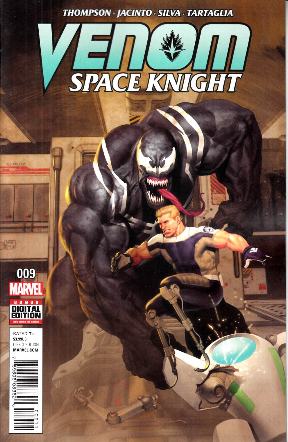 Venom Space Knight #9 [Marvel Comic] LARGE