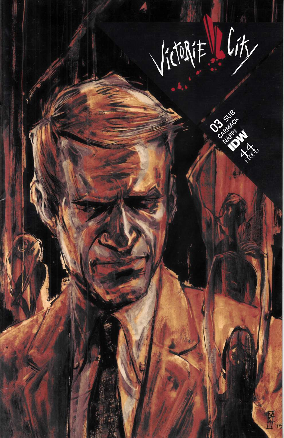 Victorie City #3 Subscription Cover [IDW Comic] THUMBNAIL