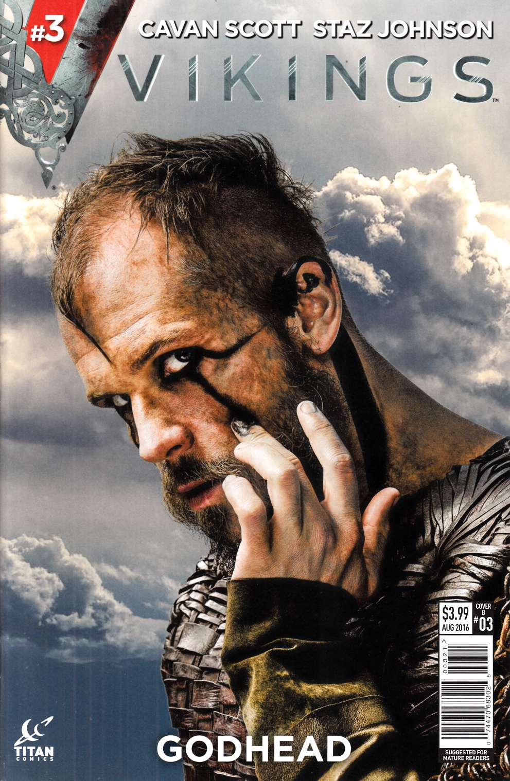 Vikings #3 Cover B- Photo [Titan Comic] THUMBNAIL