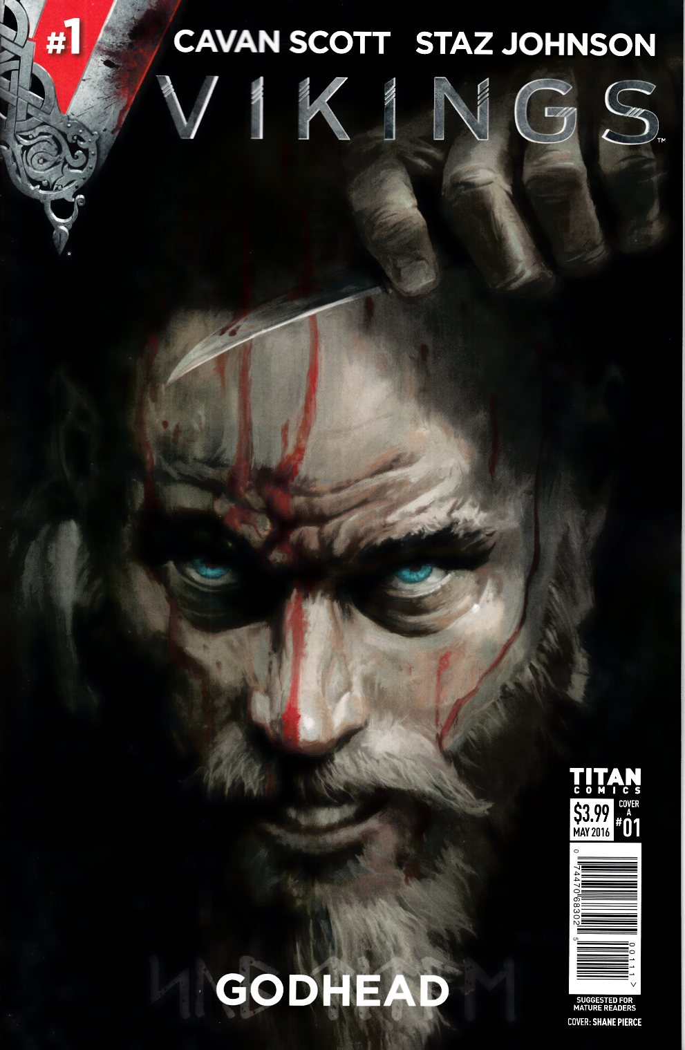 Vikings #1 Cover A [Titan Comic] THUMBNAIL