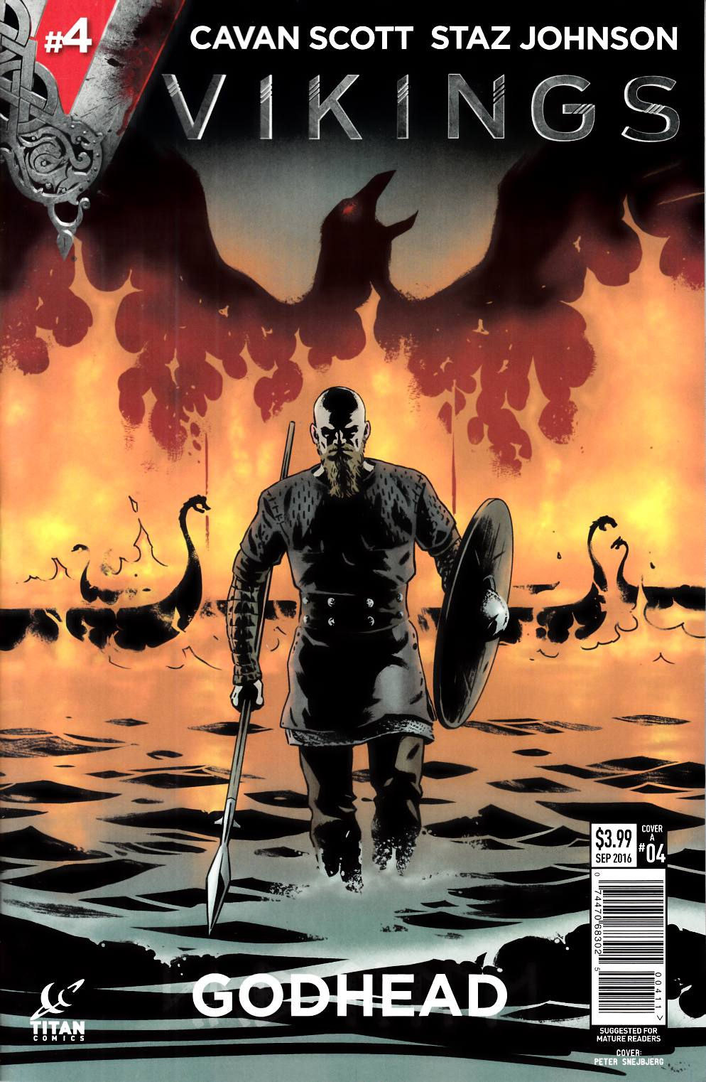 Vikings #4 Cover A [Titan Comic] THUMBNAIL