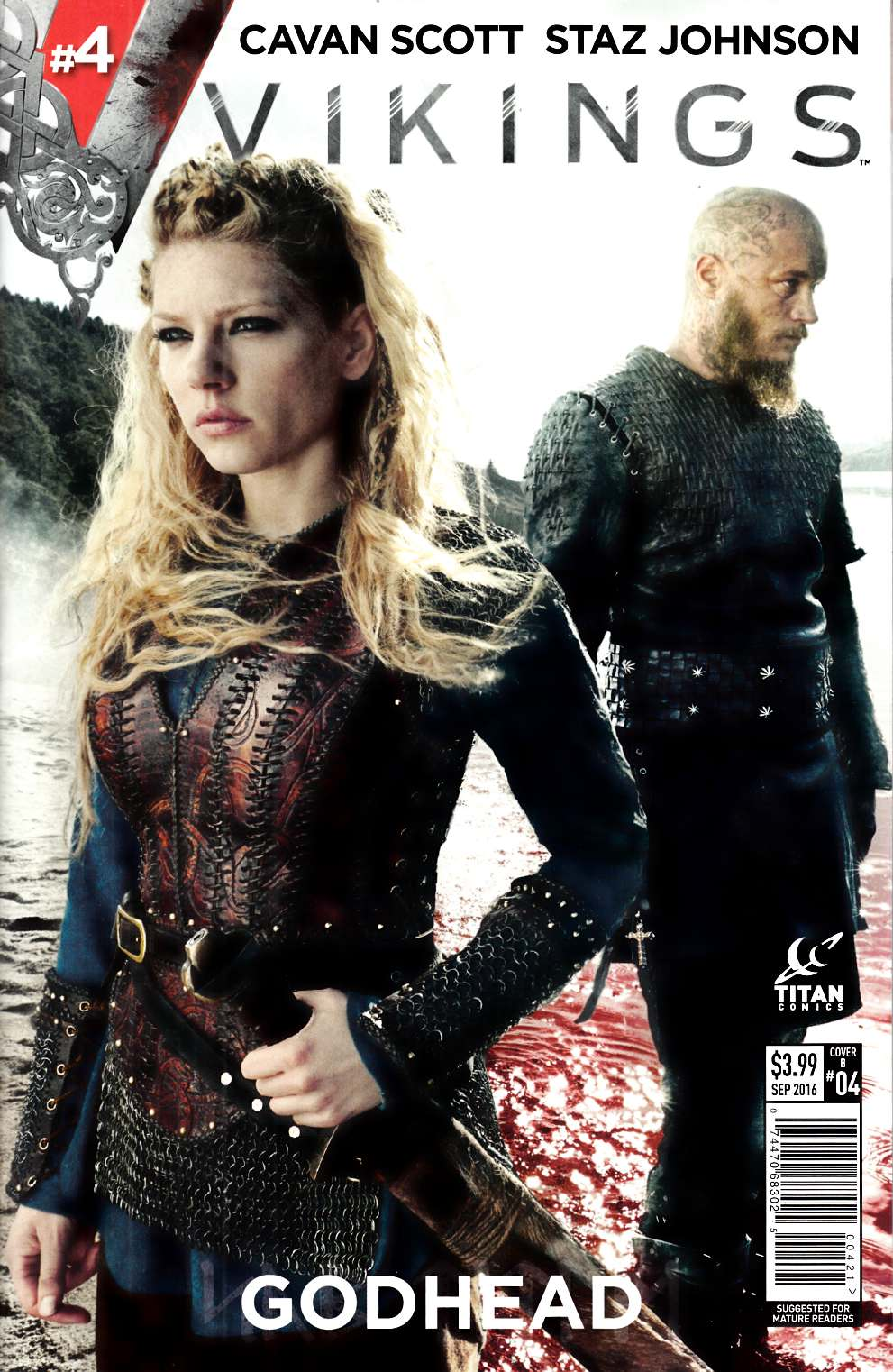 Vikings #4 Cover B [Titan Comic] LARGE