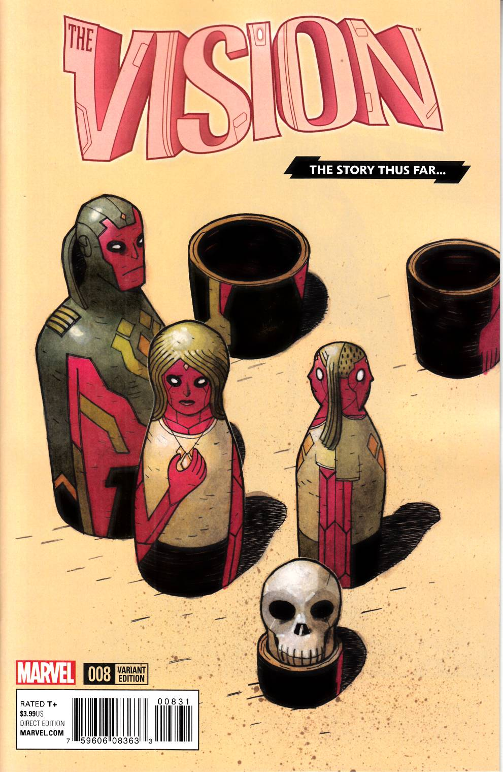 Vision #8 Story Thus Far Variant Cover [Marvel Comic] LARGE