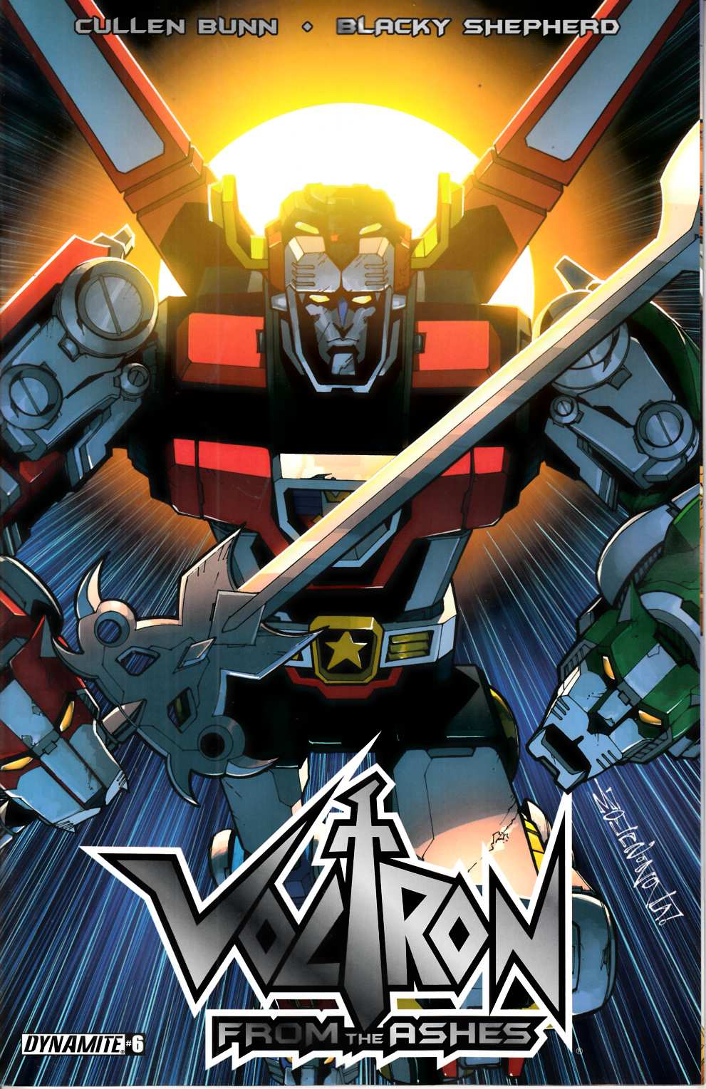 Voltron From the Ashes #6 [Dynamite Comic] THUMBNAIL