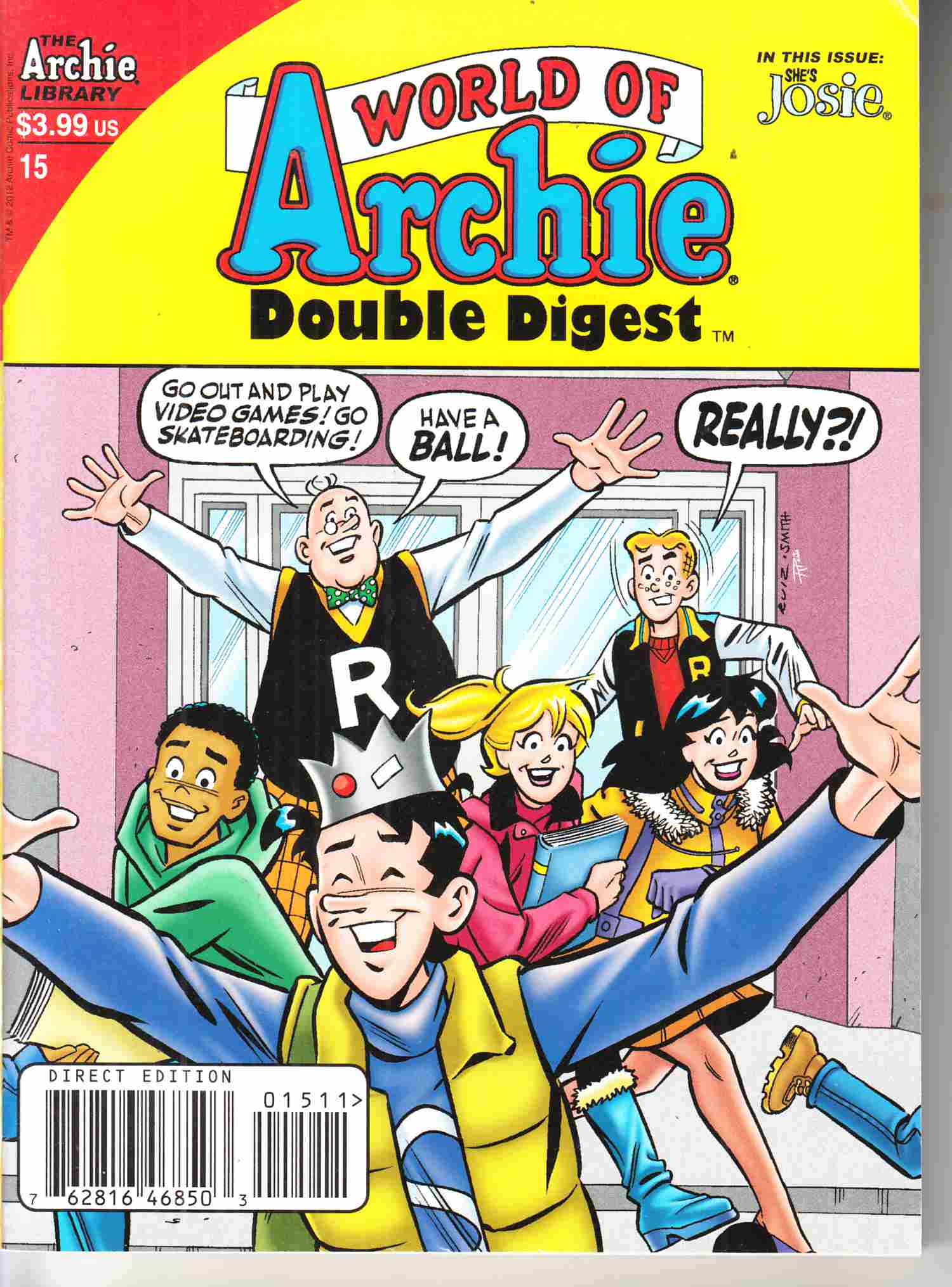 World of Archie Double Digest #15 Near Mint Minus (9.2) [Archie Comic] THUMBNAIL