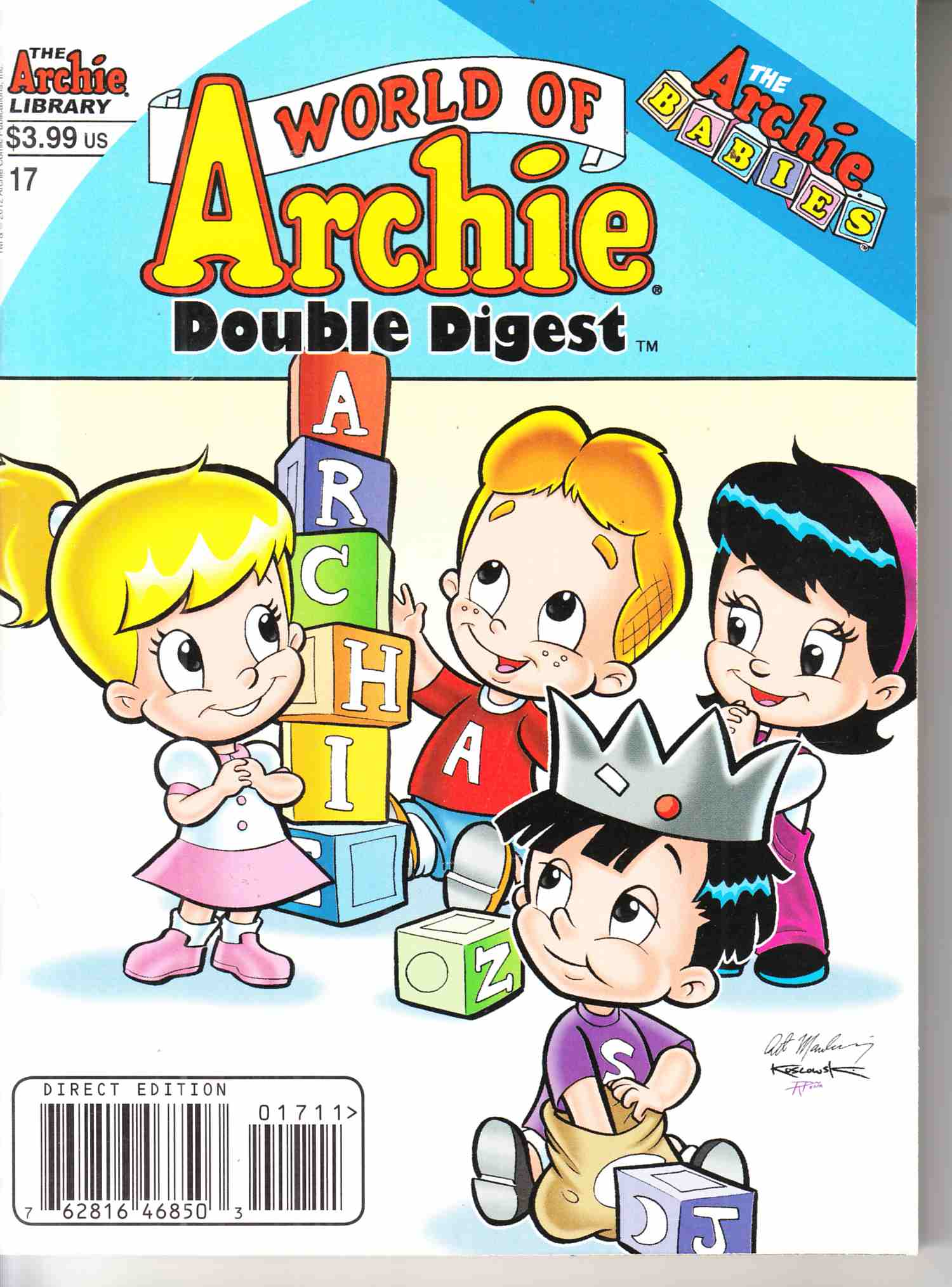 World of Archie Double Digest #17 Near Mint (9.4) [Archie Comic] THUMBNAIL