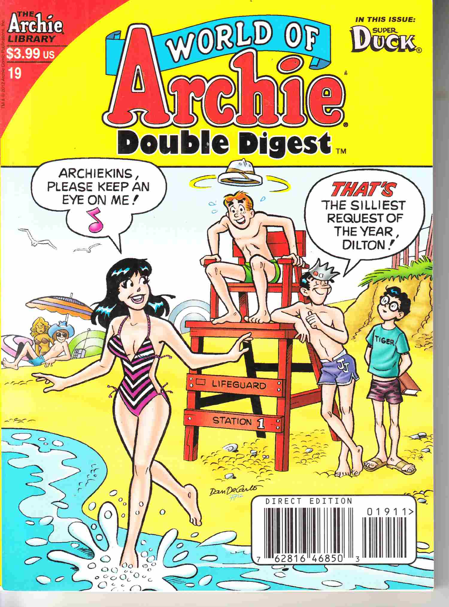 World of Archie Double Digest #19 Near Mint (9.4) [Archie Comic] THUMBNAIL