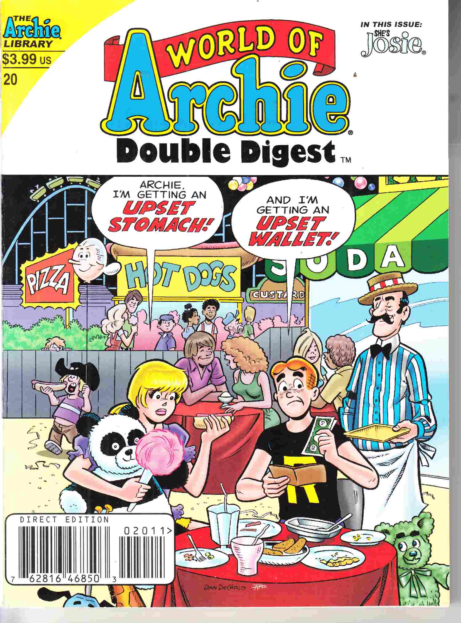 World of Archie Double Digest #20 Near Mint Minus (9.2) [Archie Comic] THUMBNAIL