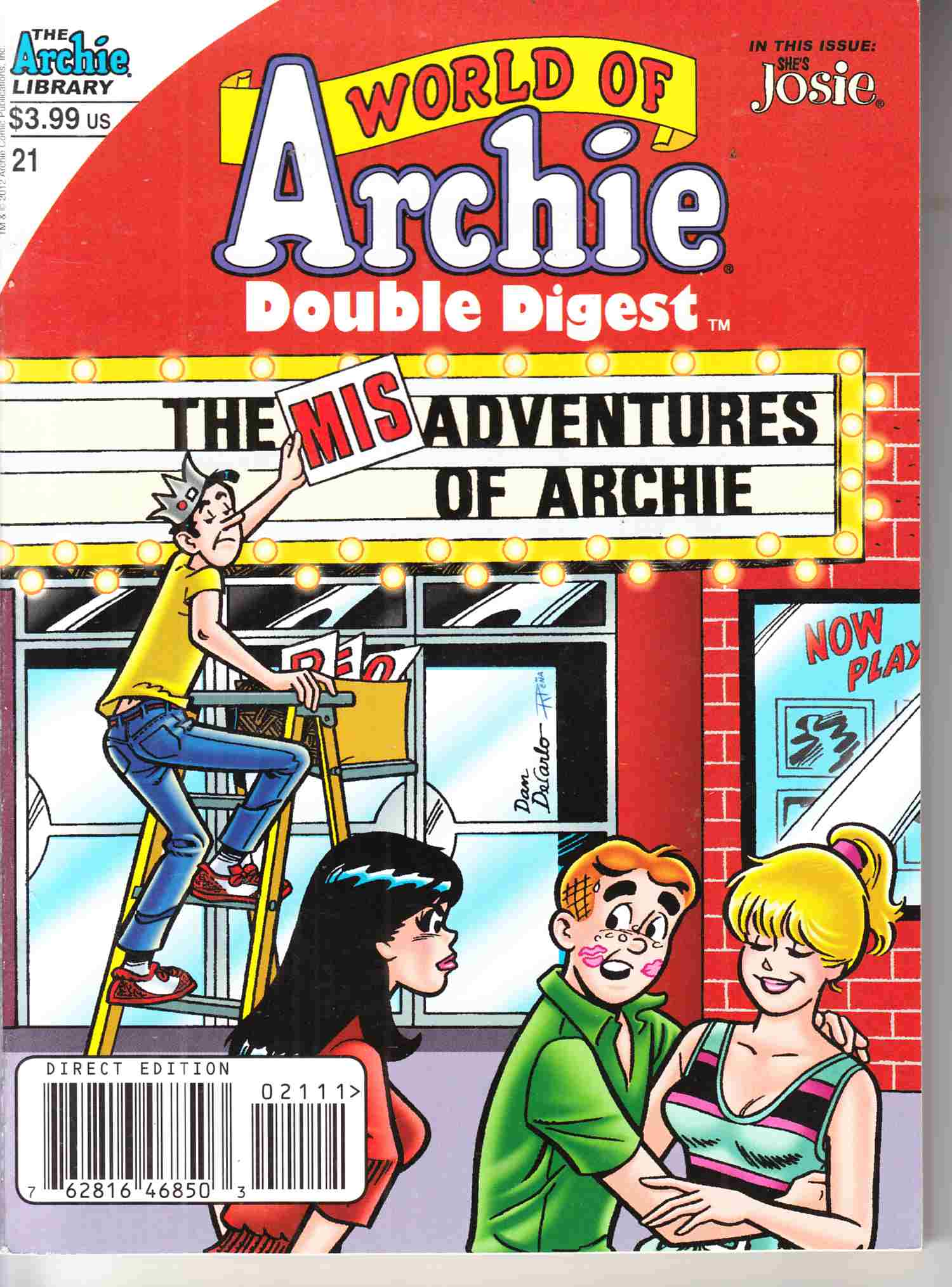 World of Archie Double Digest #21 Near Mint Minus (9.2) [Archie Comic] LARGE