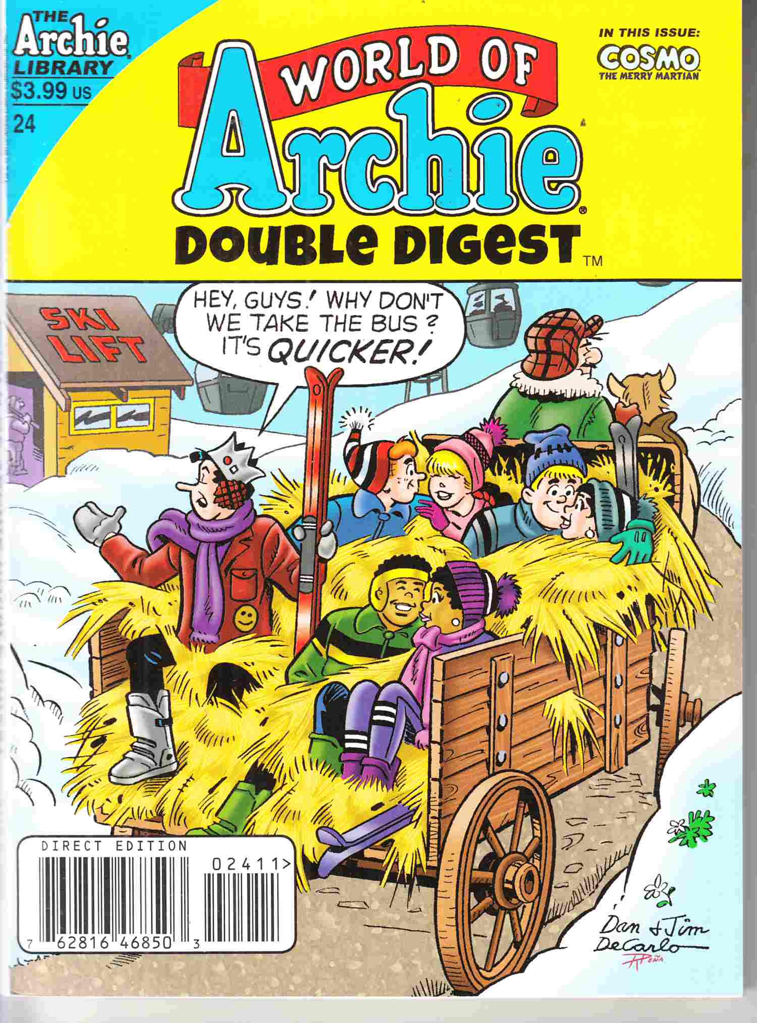 World Of Archie Double Digest #24 Near Mint (9.4) [Archie Comic] THUMBNAIL