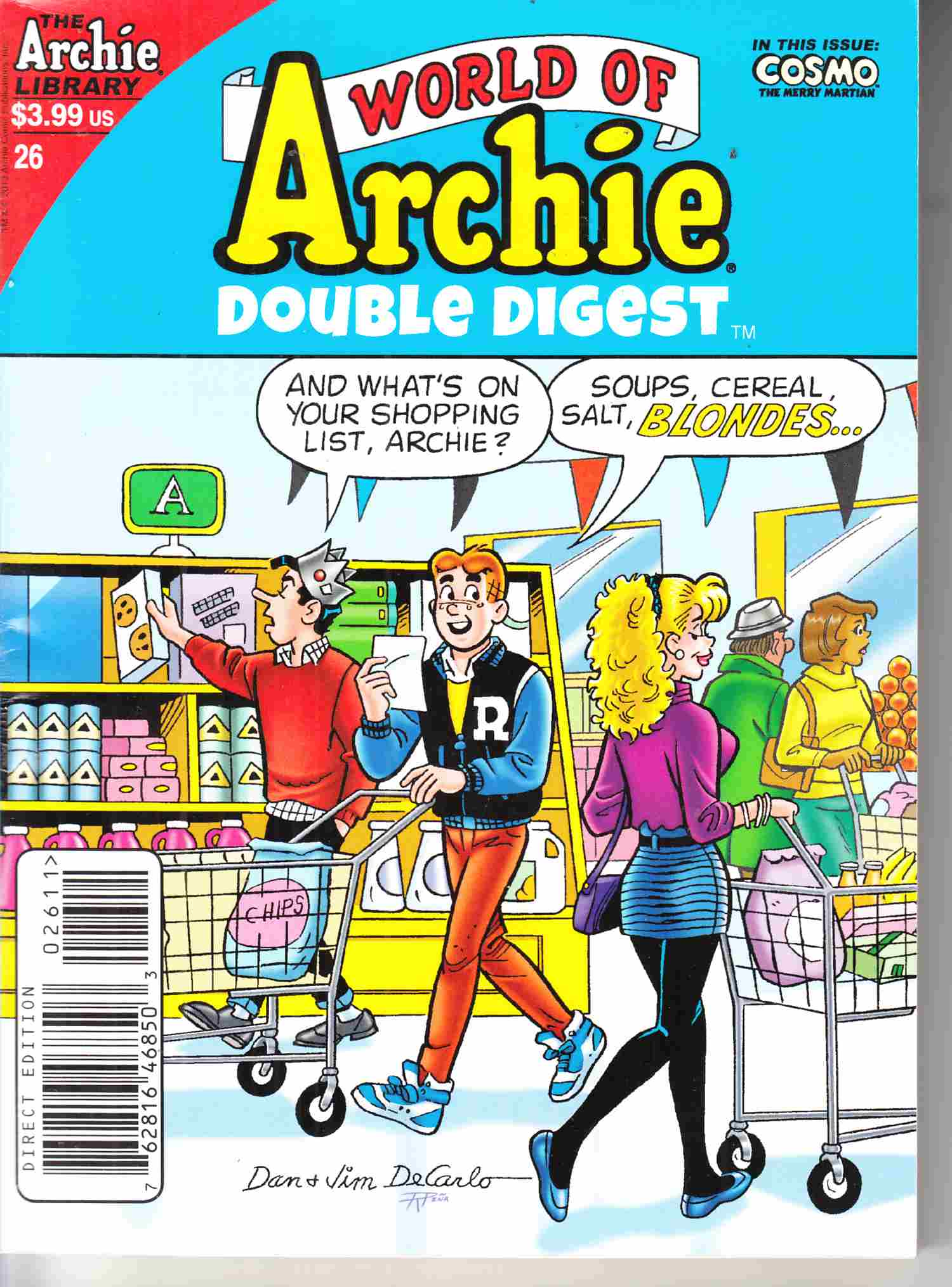 World of Archie Double Digest #26 Fine (6.0) [Archie Comic]_LARGE