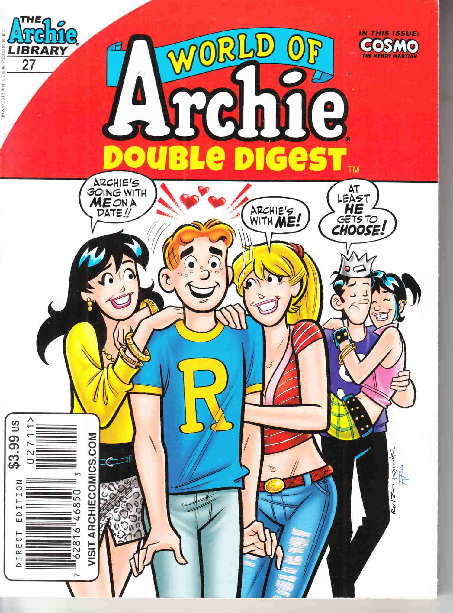World of Archie Double Digest #27 Near Mint (9.4) [Archie Comic] THUMBNAIL
