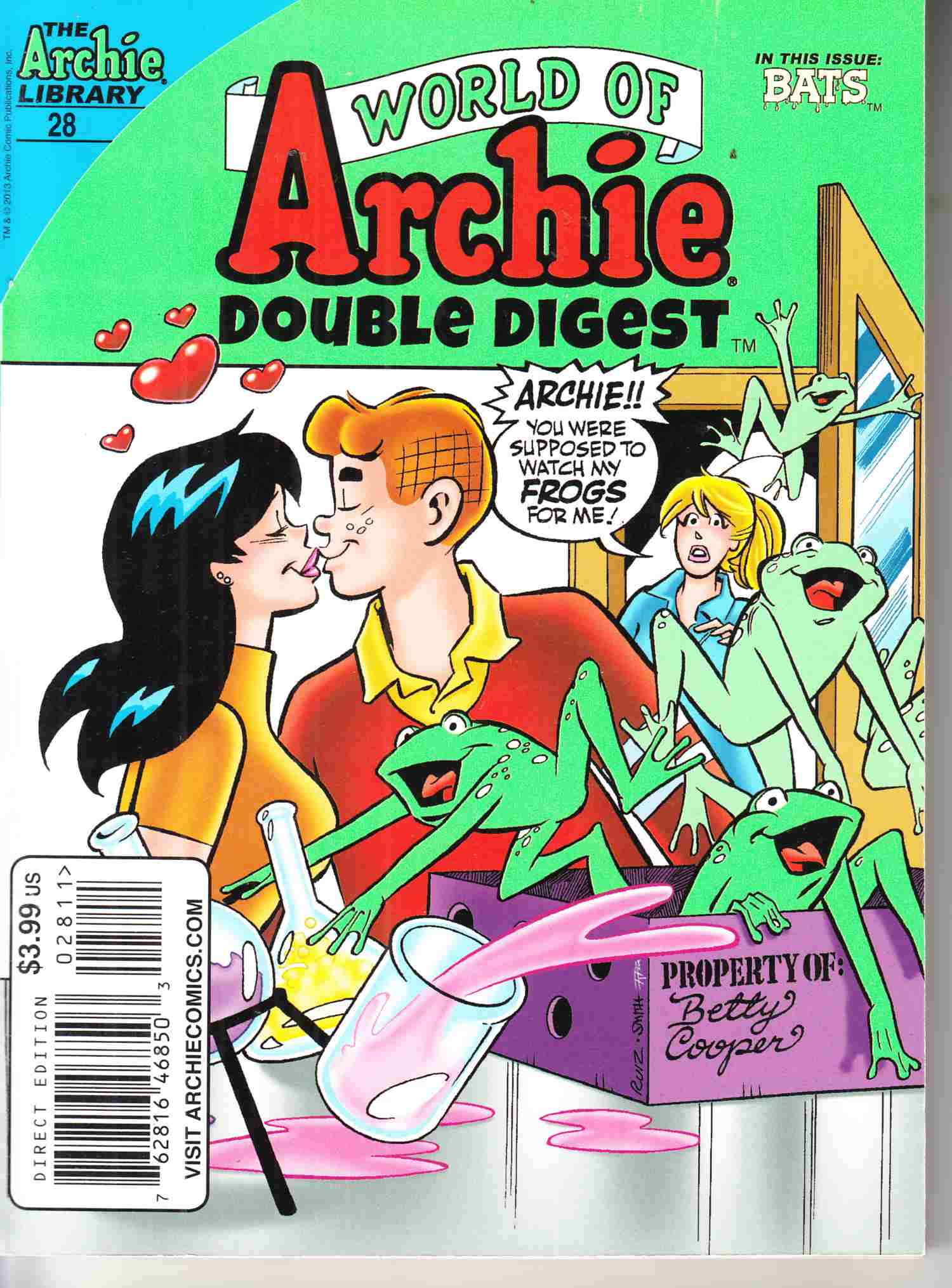 World of Archie Double Digest #28 Near Mint Minus (9.2) [Archie Comic] THUMBNAIL