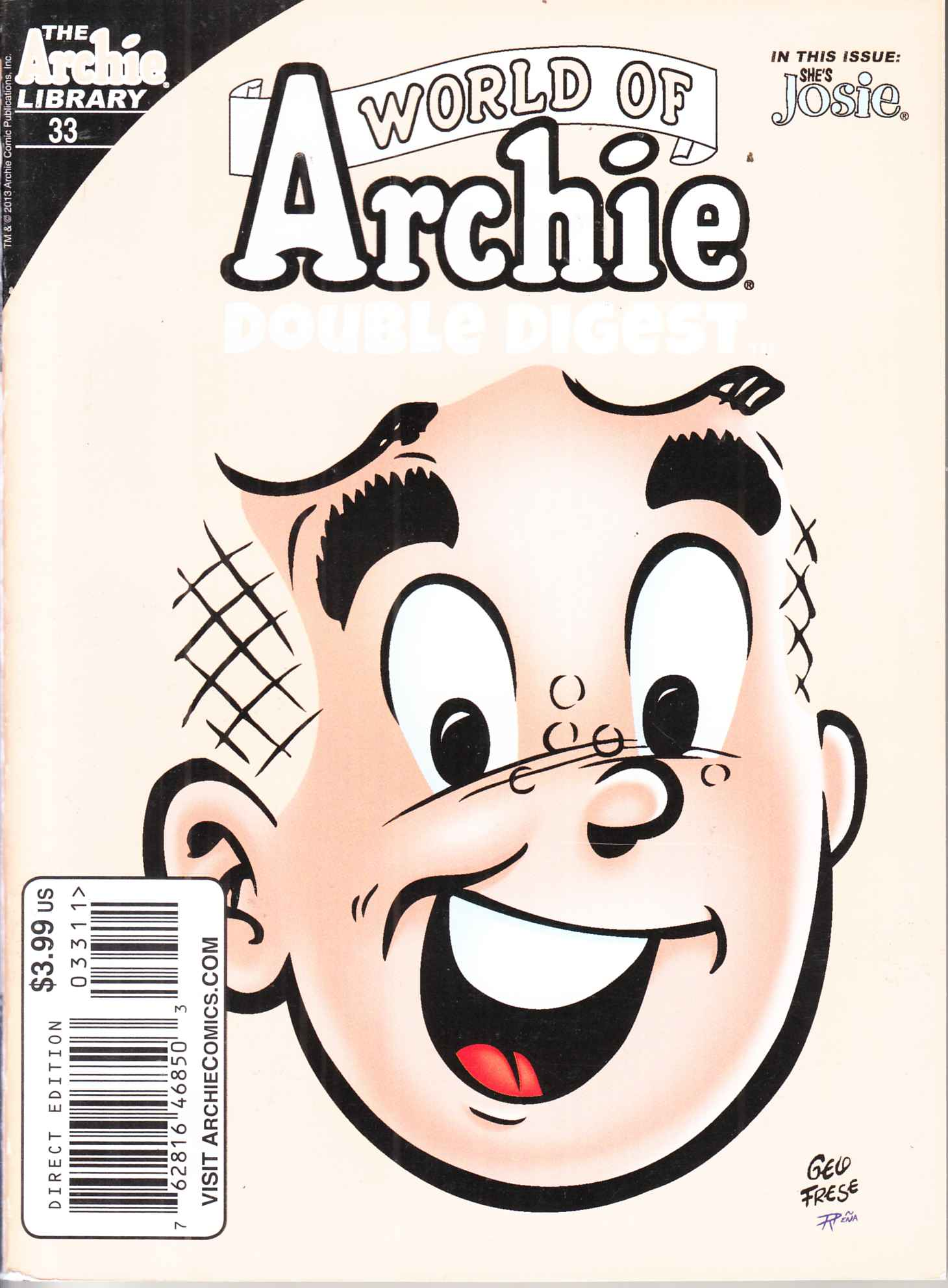 World of Archie Double Digest #33 Near Mint (9.4) [Archie Comic] LARGE