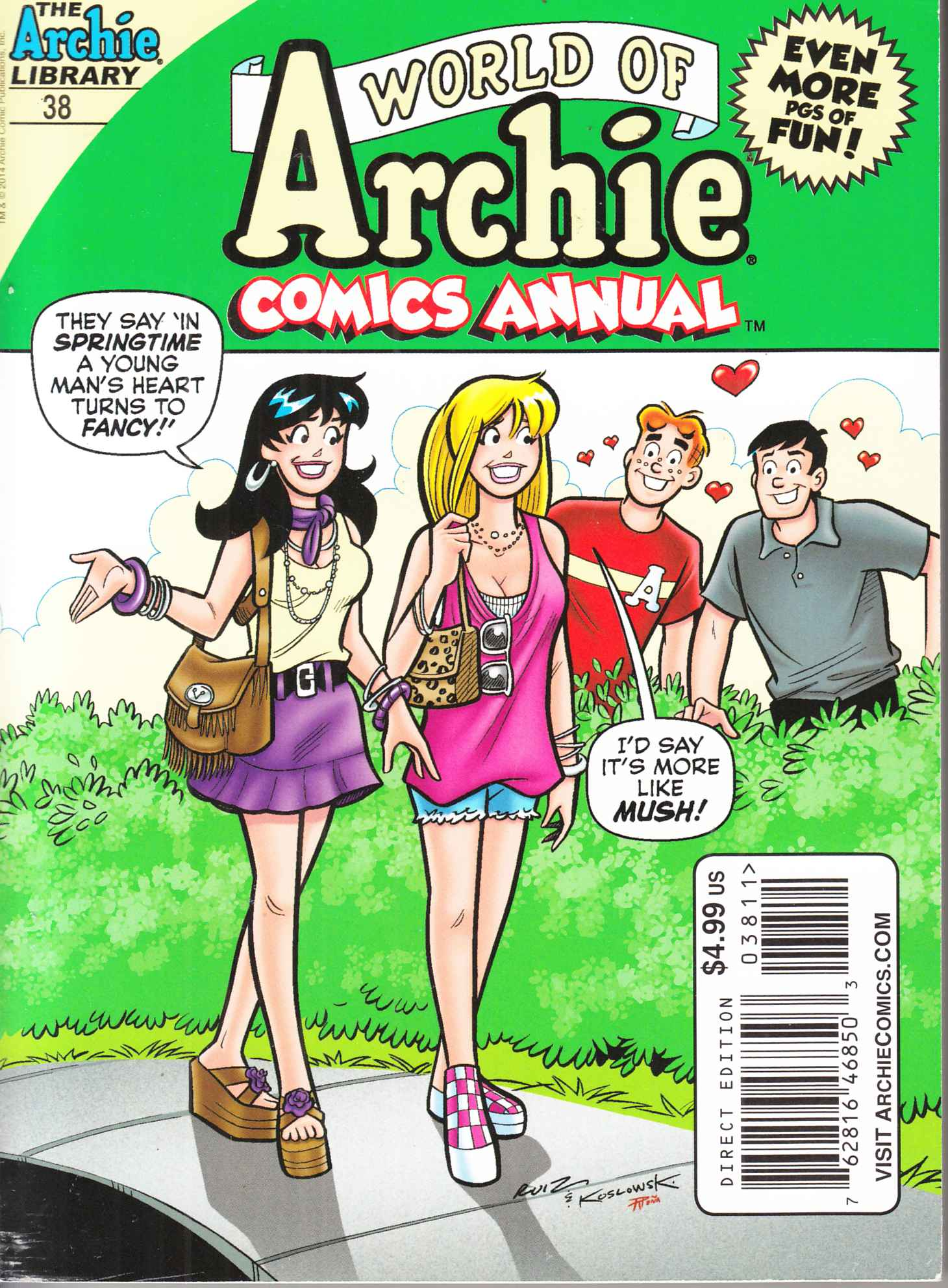 World of Archie Double Digest #38 Near Mint (9.4) [Archie Comic] THUMBNAIL
