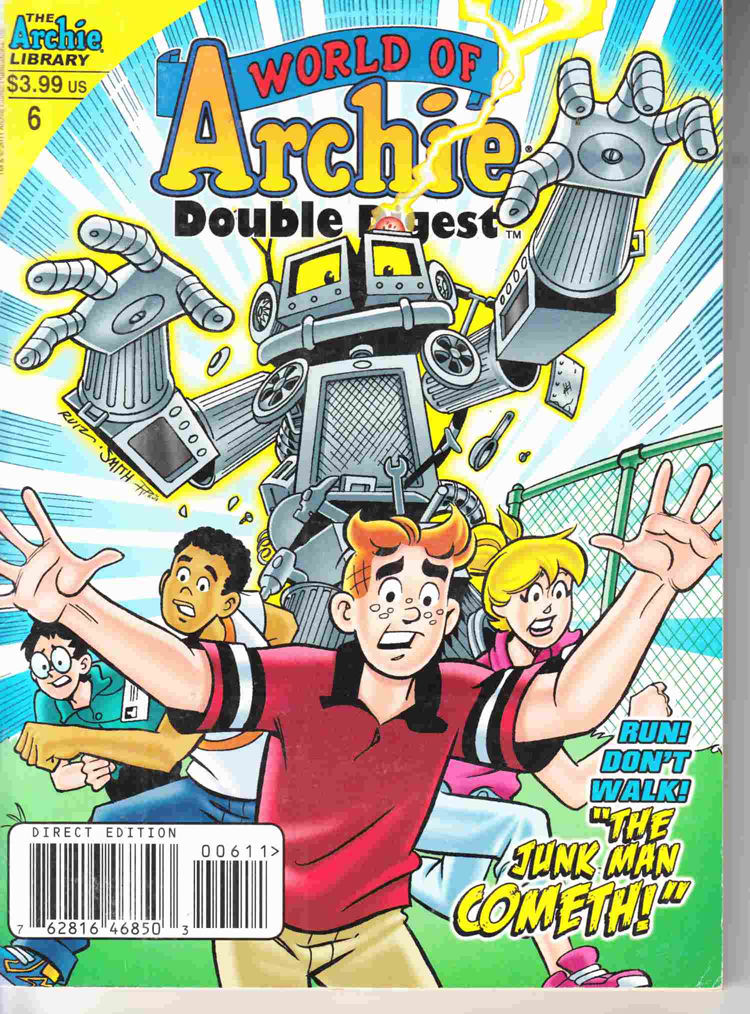 World of Archie Double Digest #6 Near Mint Minus (9.2) [Archie Comic] LARGE