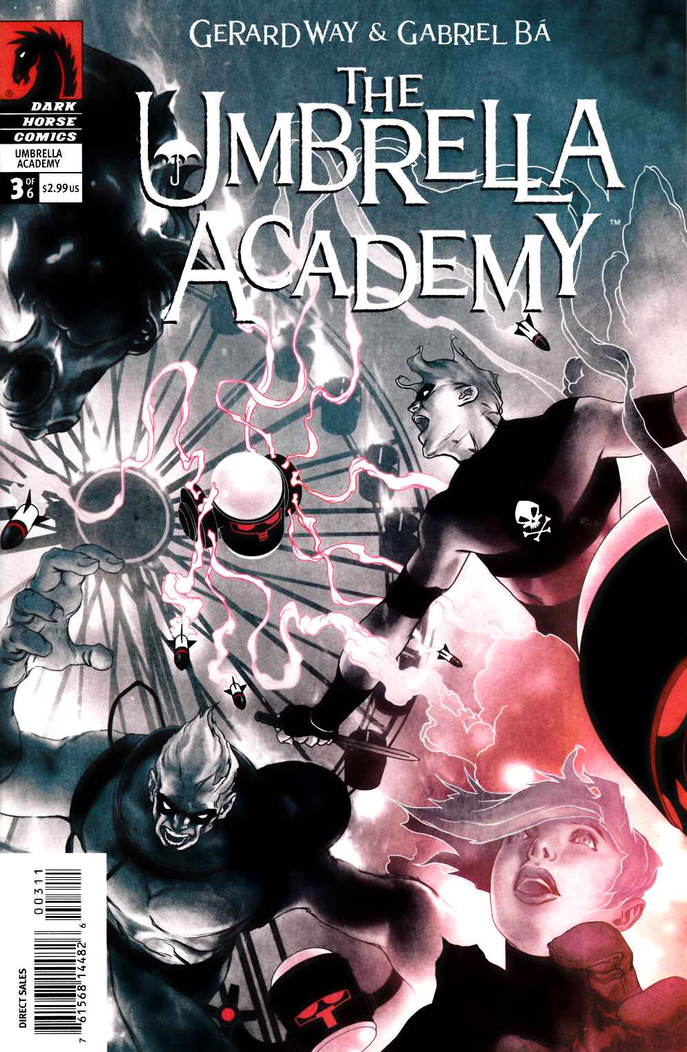 Umbrella Academy Apocalypse Suite #3 [Dark Horse Comic]